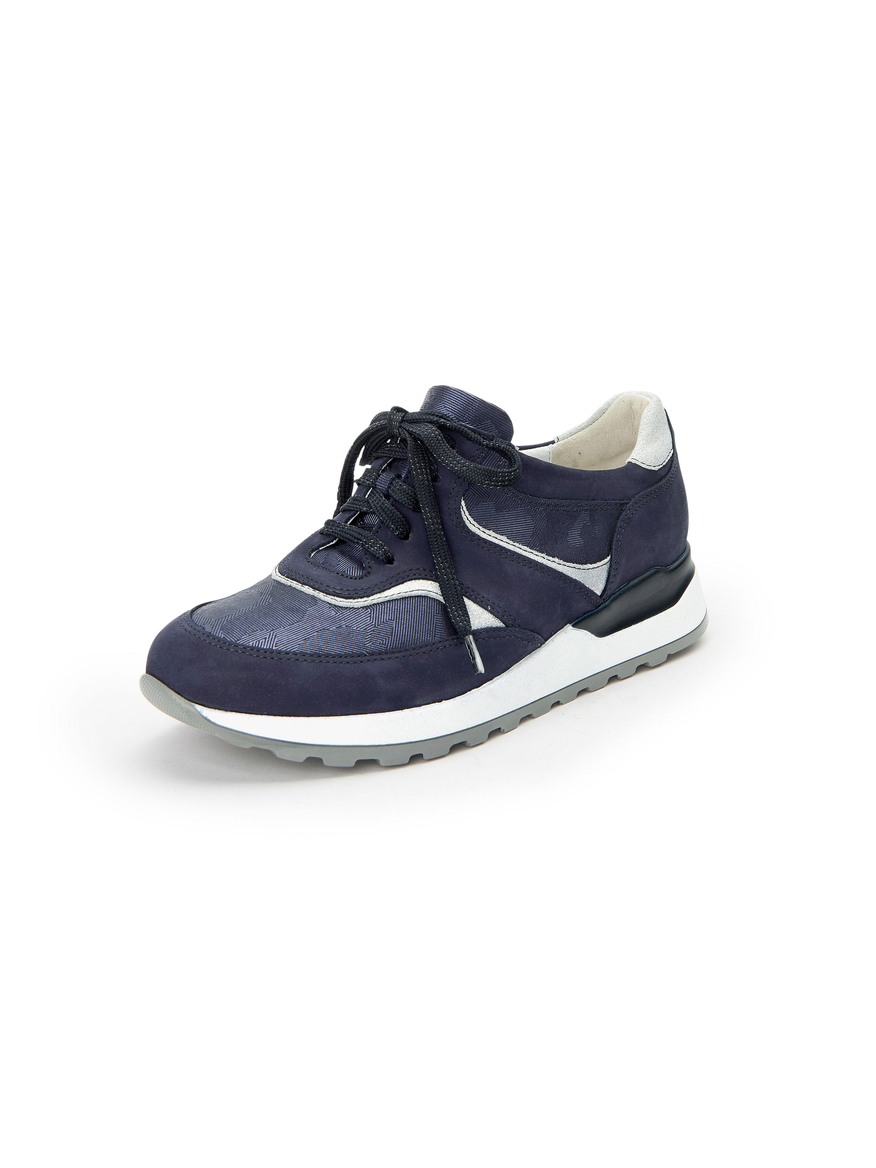 Les sneakers Hiroko cuir, style sport Waldläufer bleu taille 37