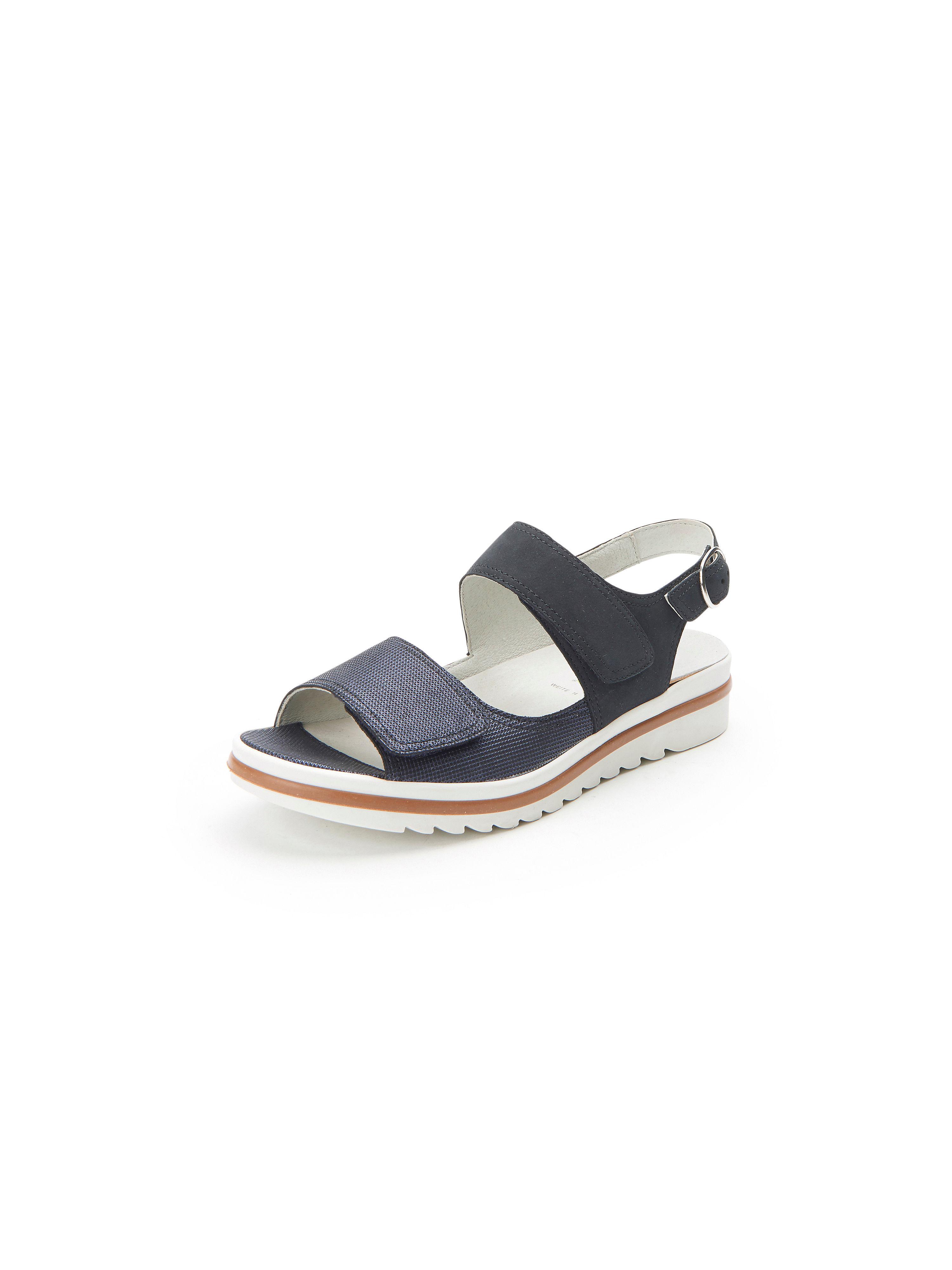 Les sandales cuir, modèle HENJA Waldläufer bleu taille 37