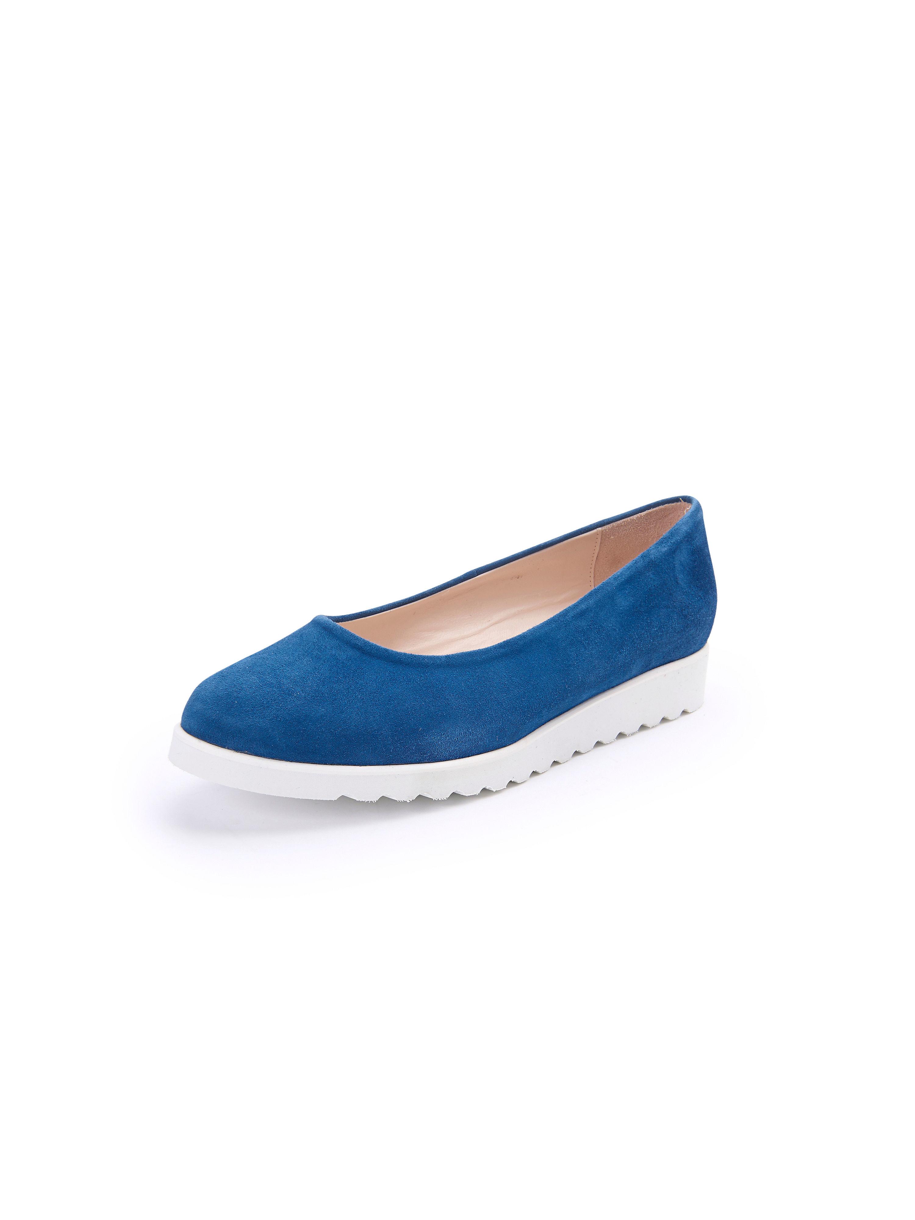 Les ballerines cuir - modèle Scarpio Scarpio bleu taille 36