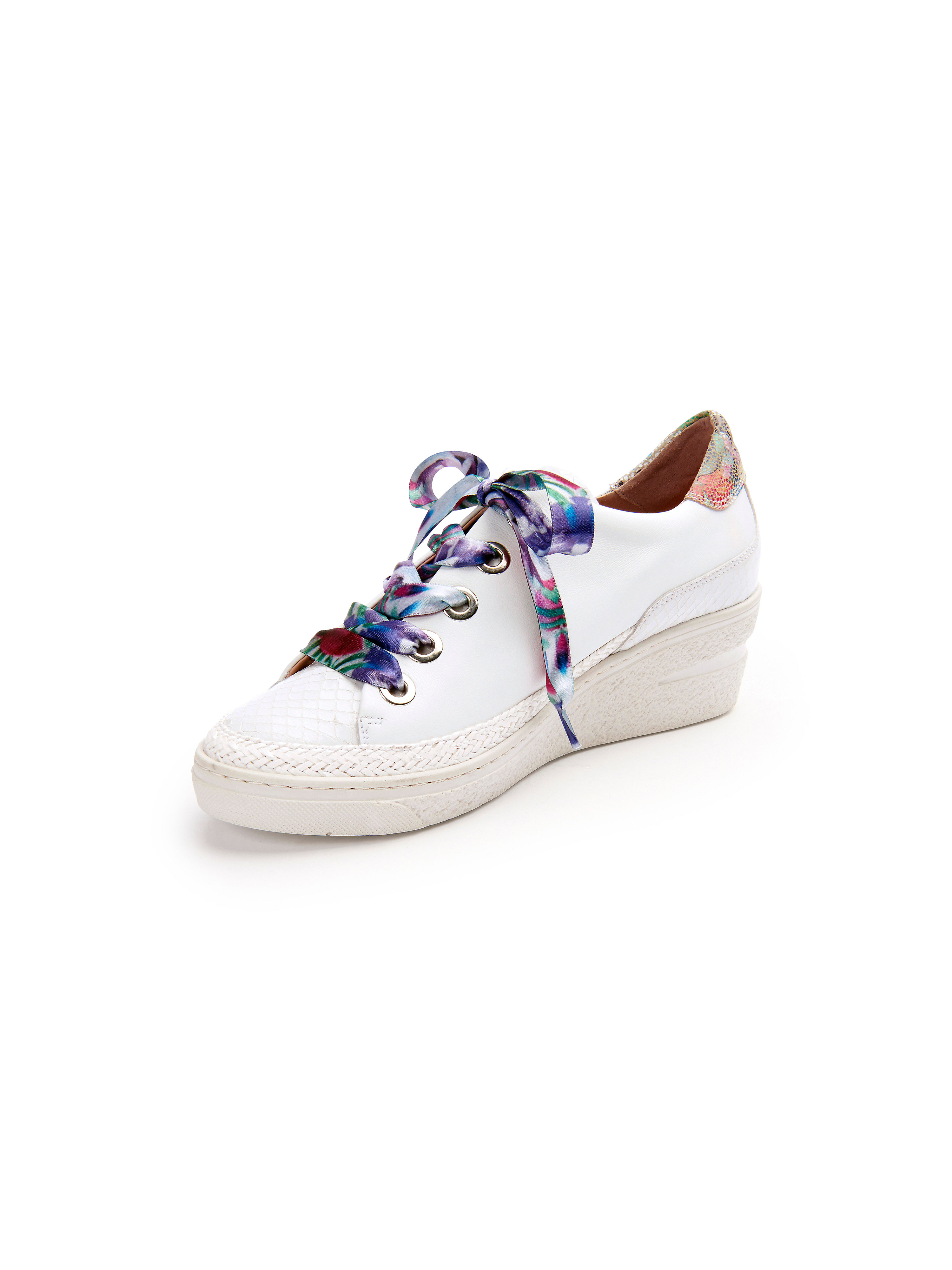 Les sneakers cuir - modèle Light Softy´s Softwaves blanc taille 42