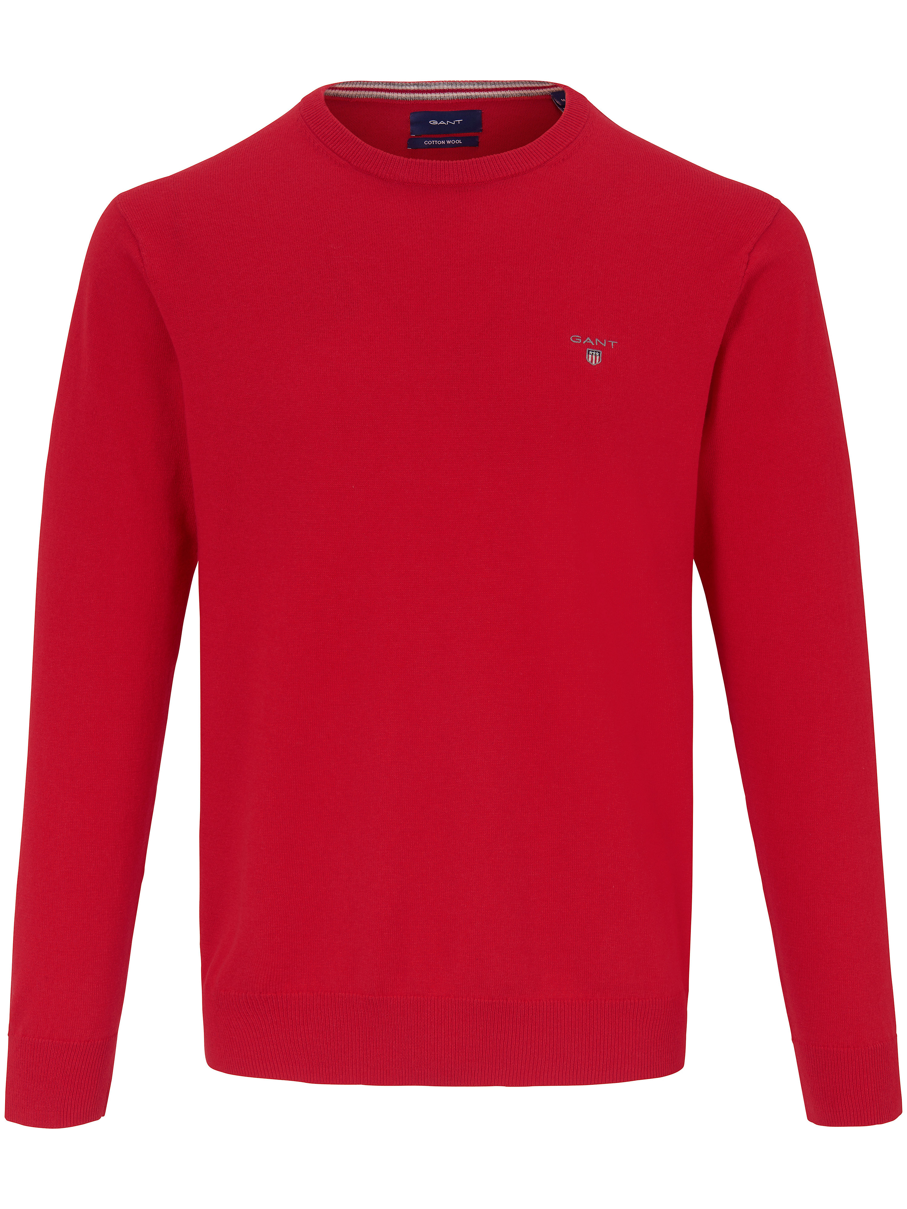 Le pull col ras-du-cou  GANT rouge taille 58