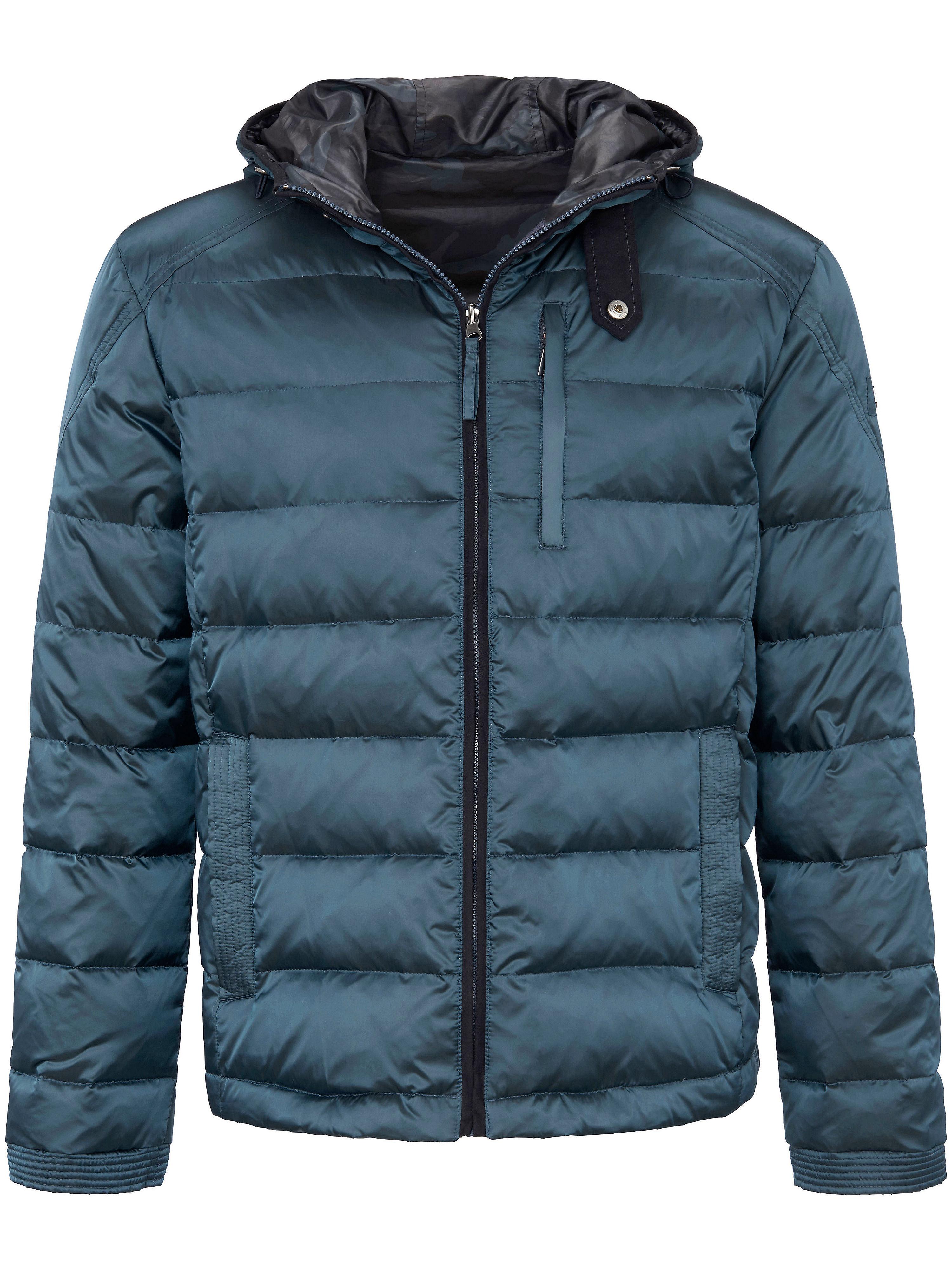 Image of   Quiltet jakke hætte Fra Steinbock turkis
