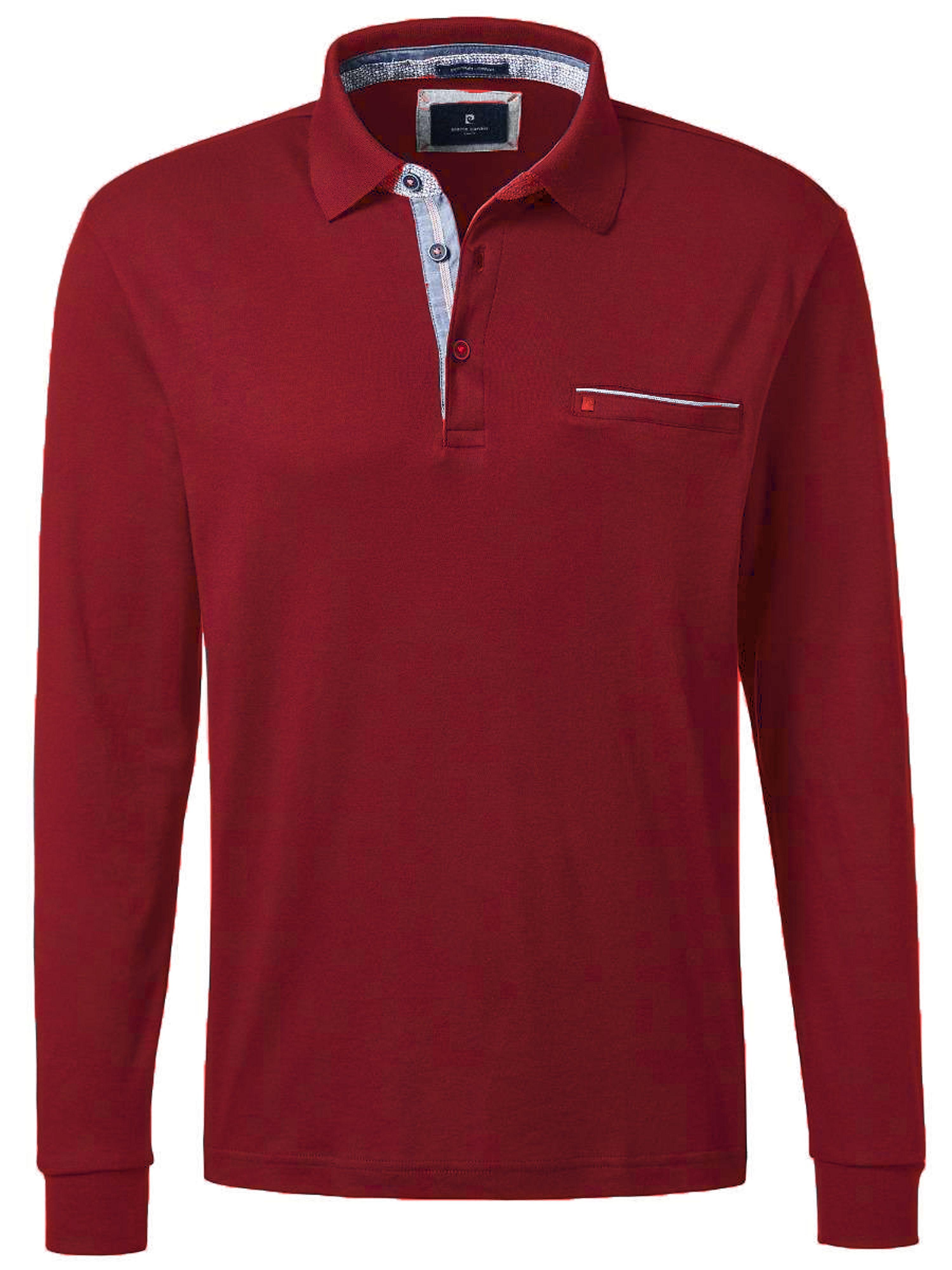 Poloshirt Van Pierre Cardin rood