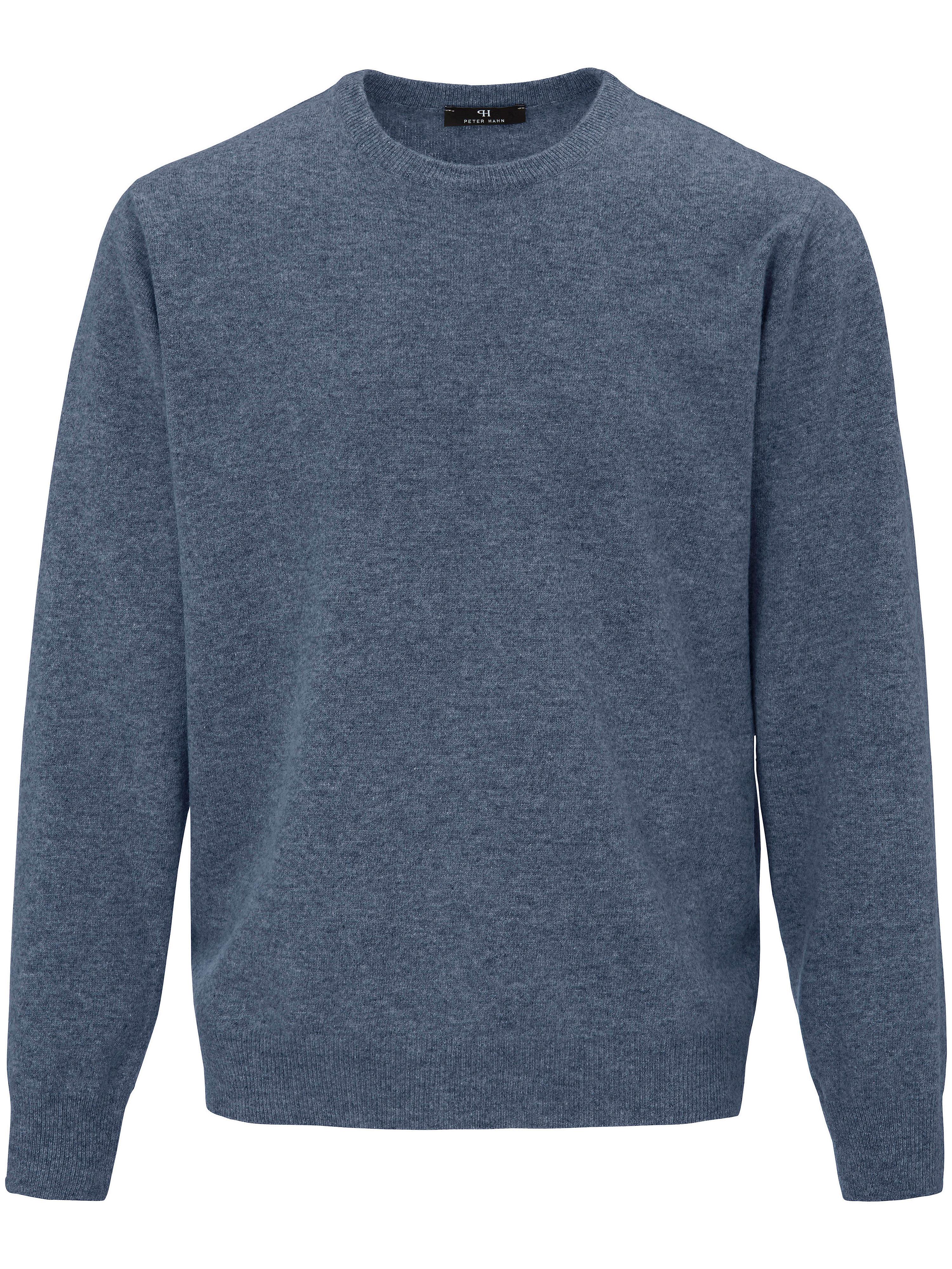 Image of   Bluse 100% ren ny uld Fra Peter Hahn blå