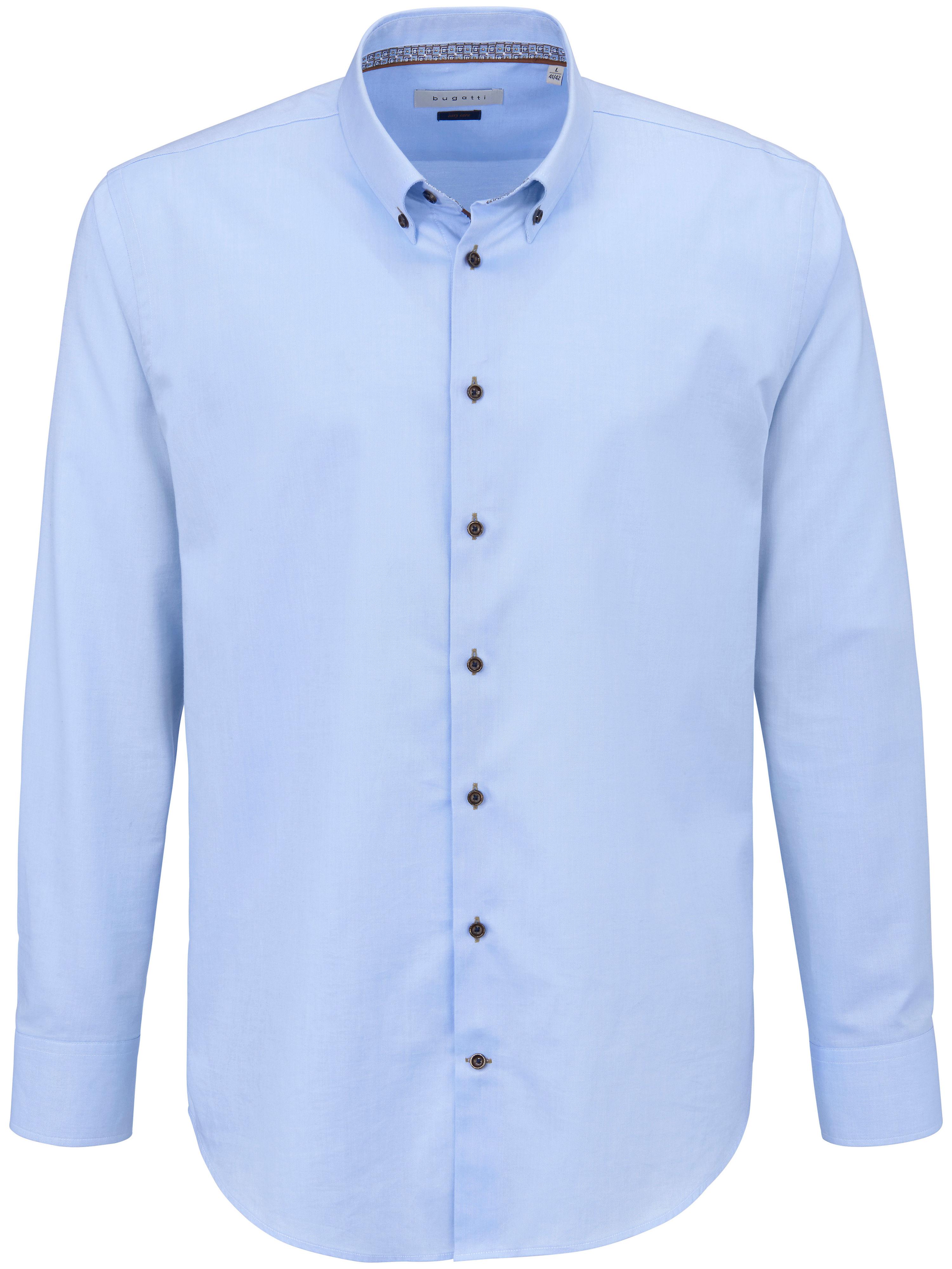 La chemise 100% coton  Bugatti bleu