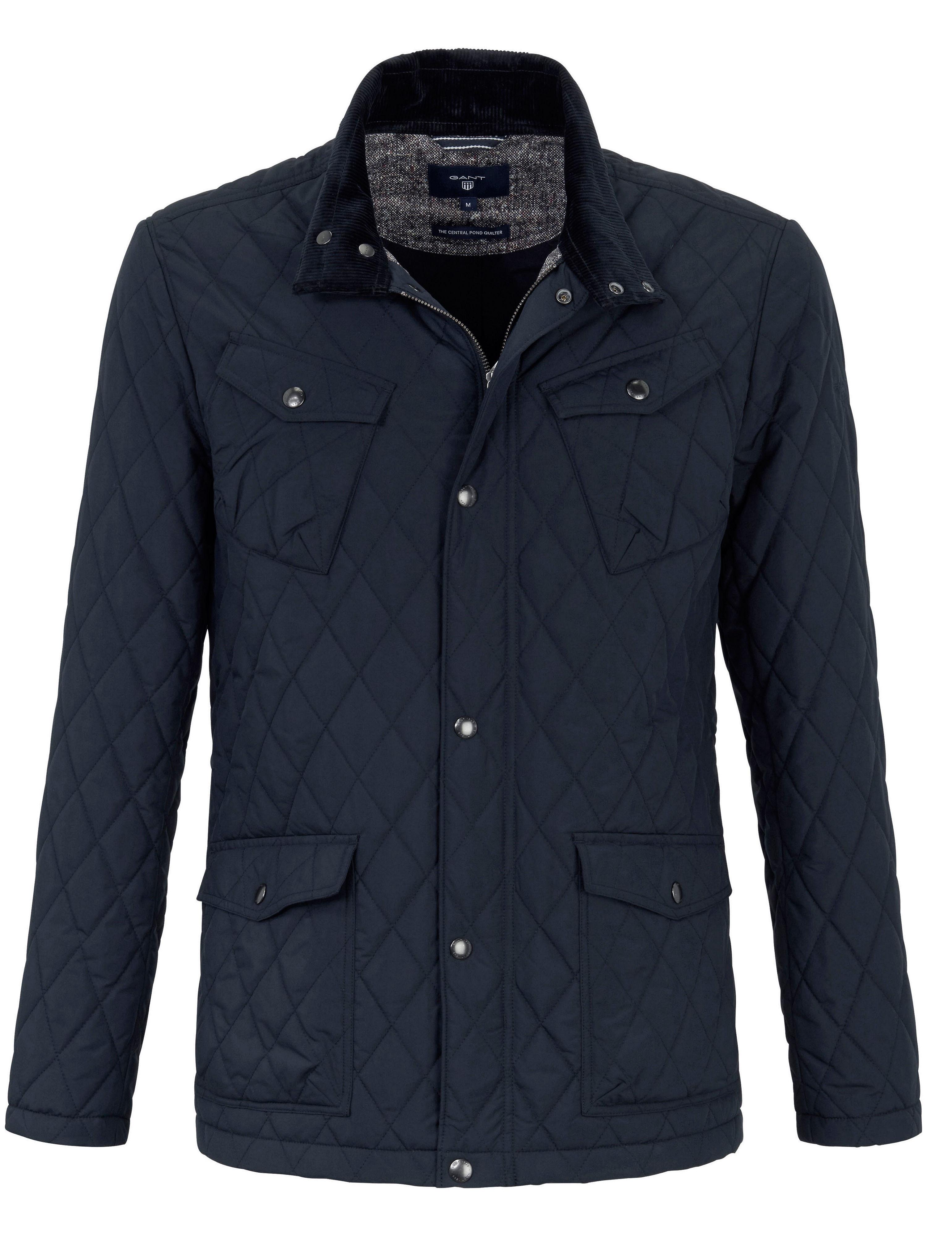 Image of   Quiltet jakke i casual-look Fra GANT blå