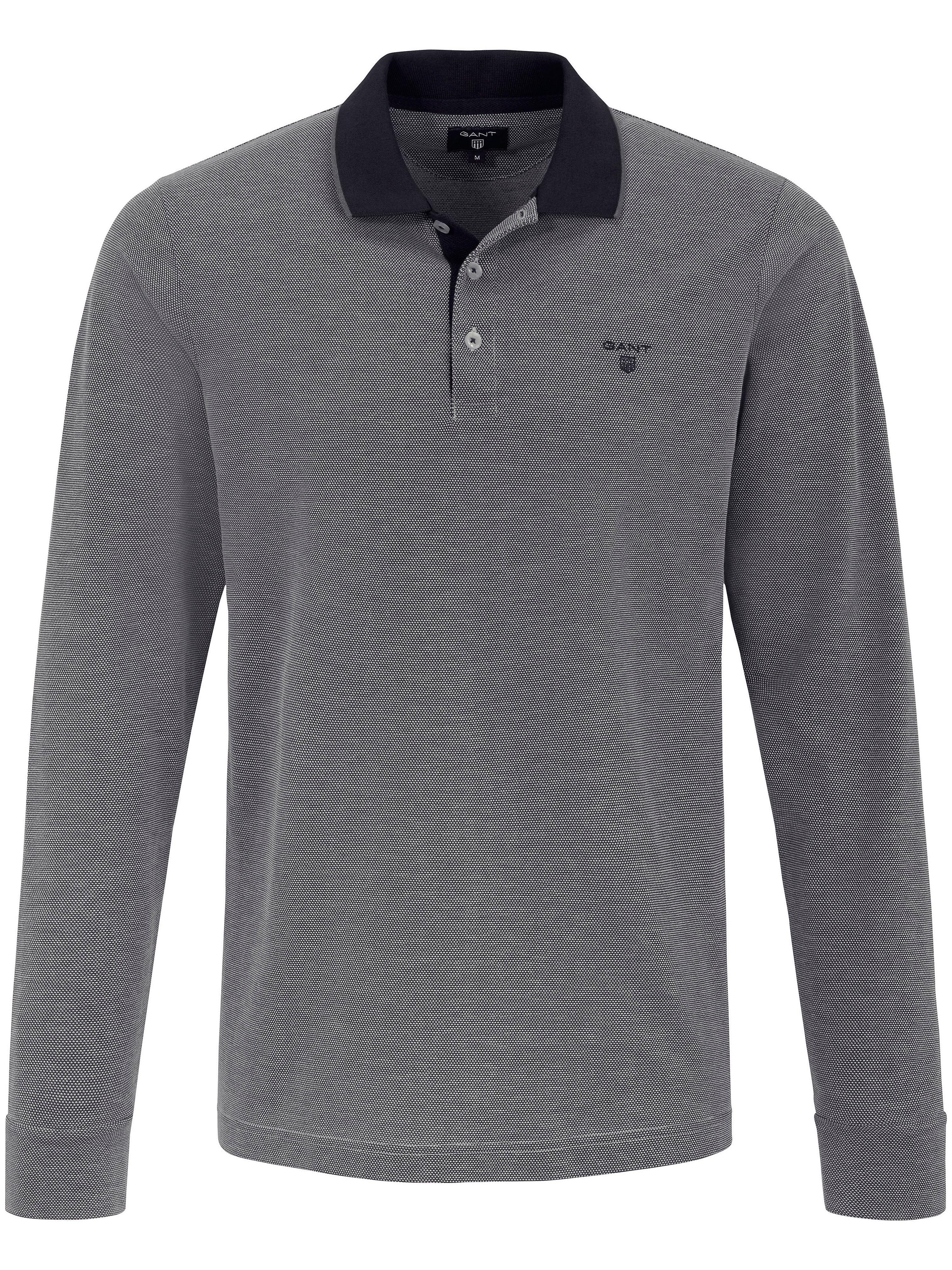 Image of   Poloshirt i sporty designerstil Fra GANT grå