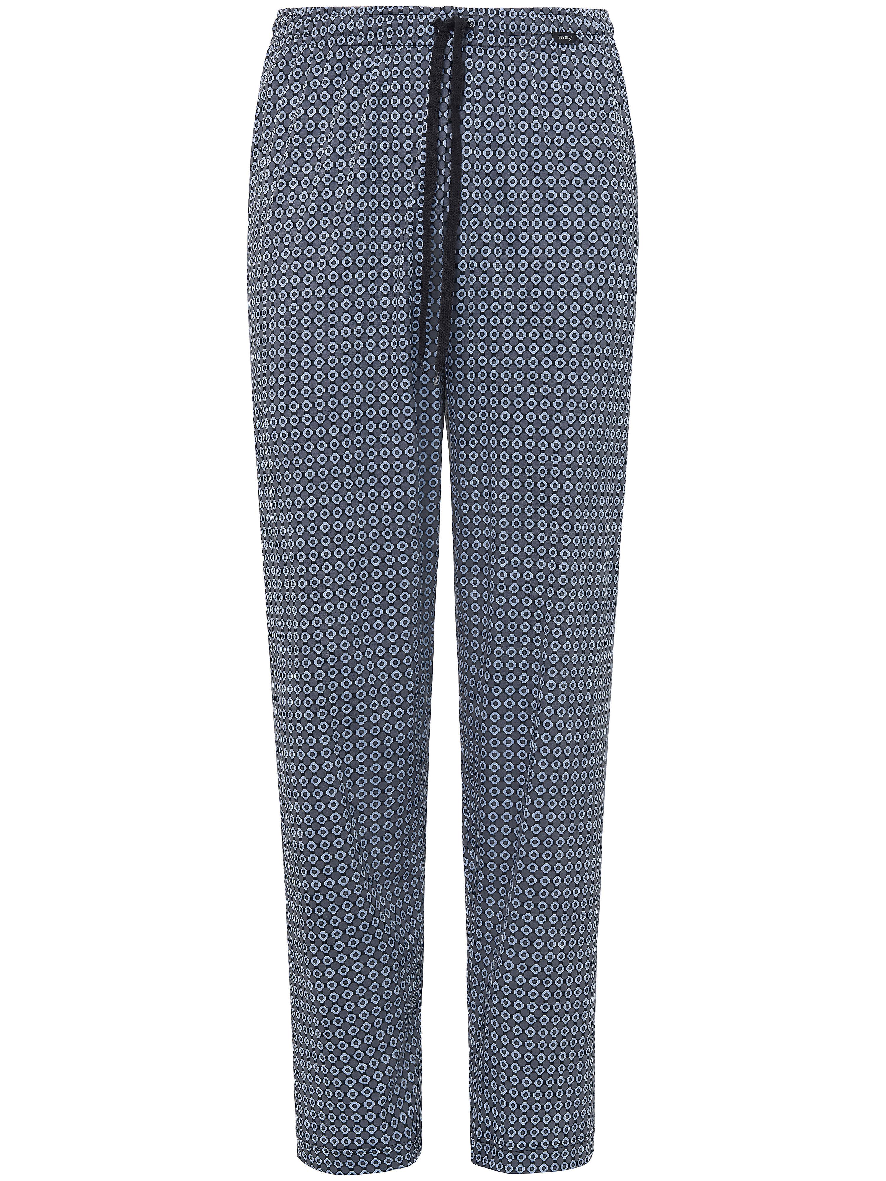 Pyjamabroek Van Mey grijs