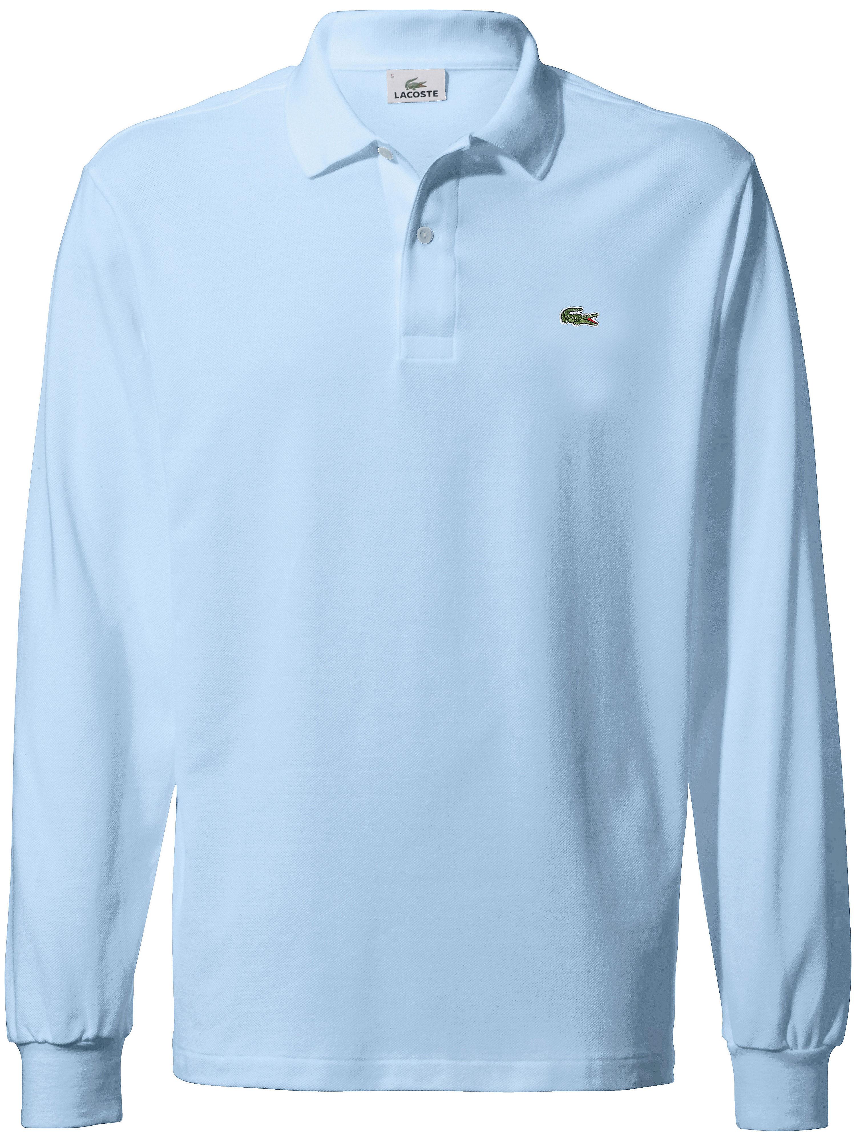 Image of   Poloshirt lange ærmer Fra Lacoste blå