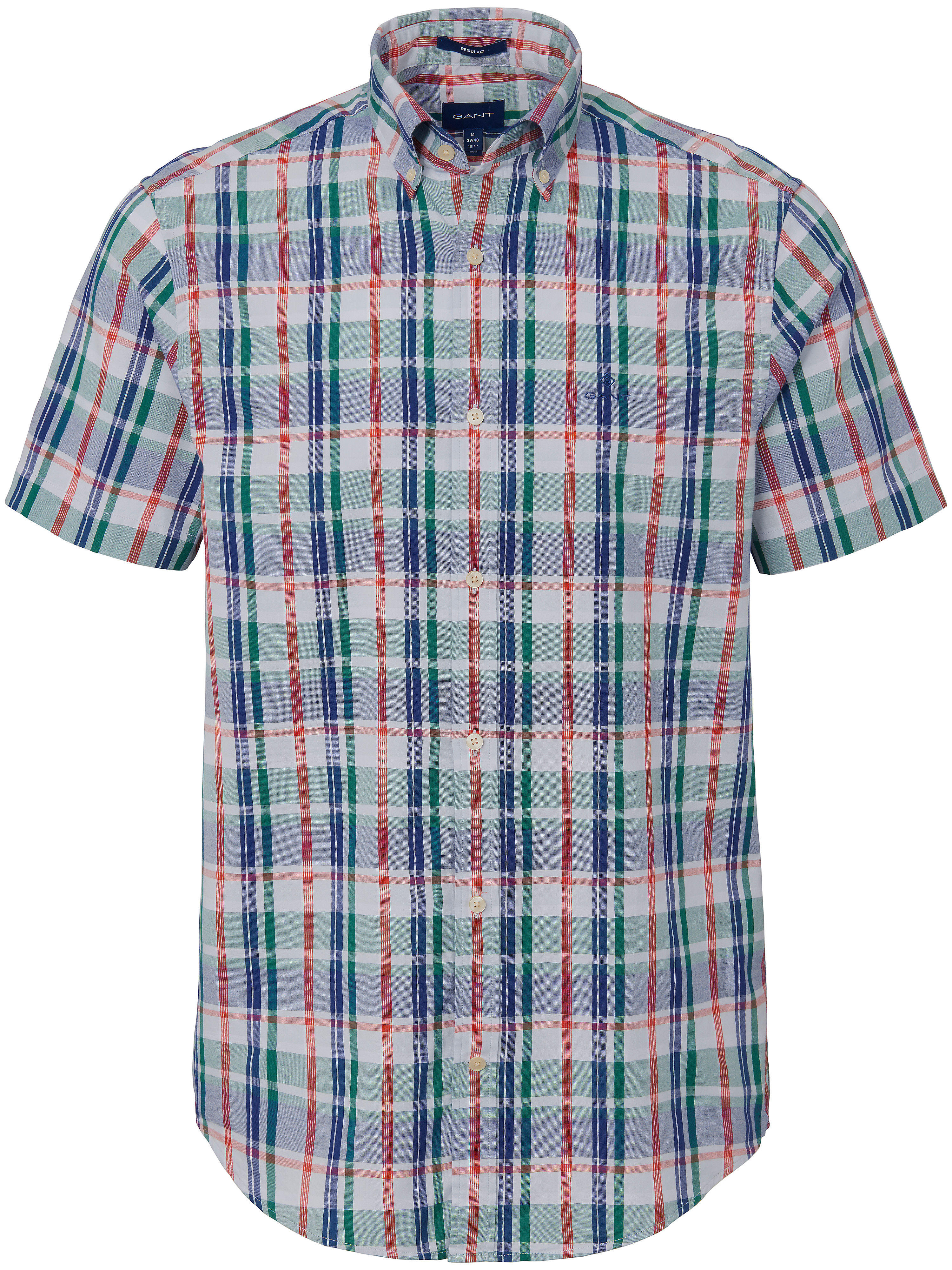 La chemise 100% coton  GANT vert taille 43/44