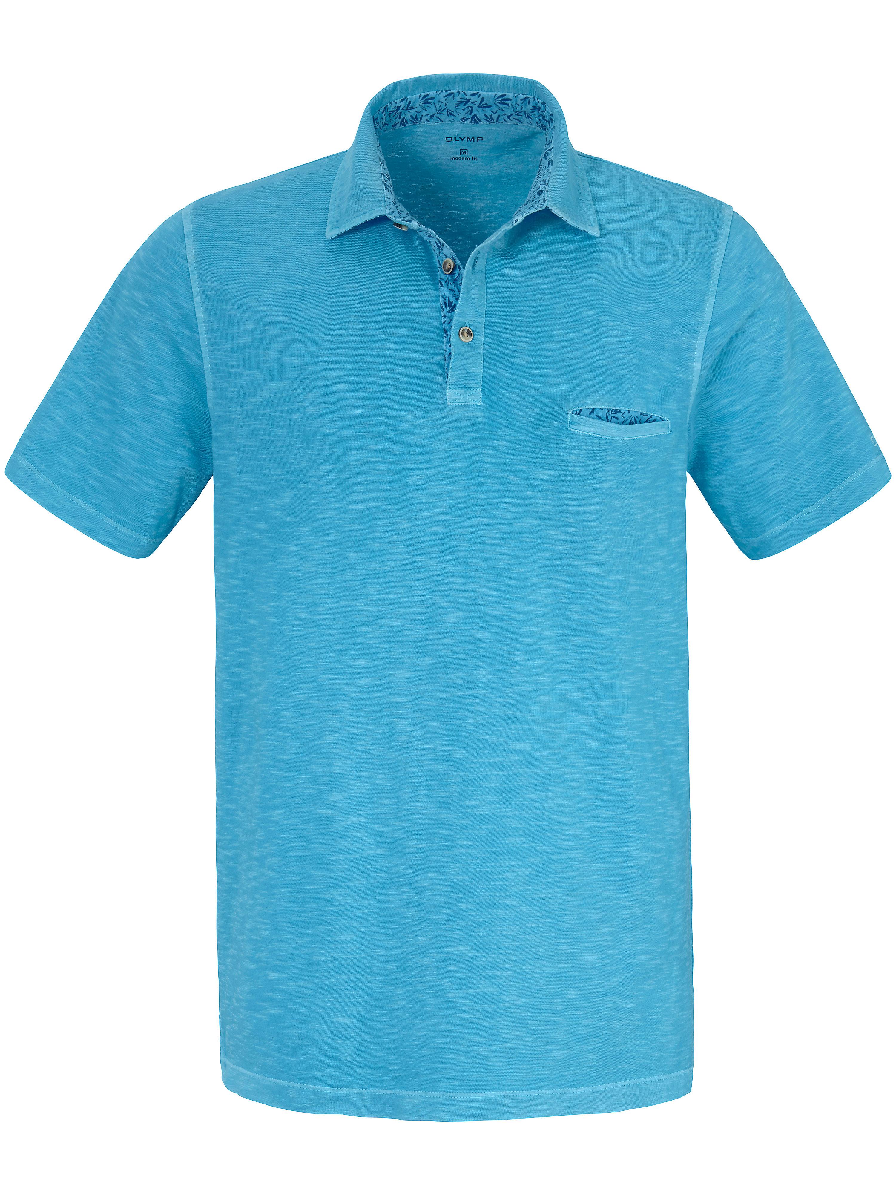 Le polo 100% coton  Olymp turquoise