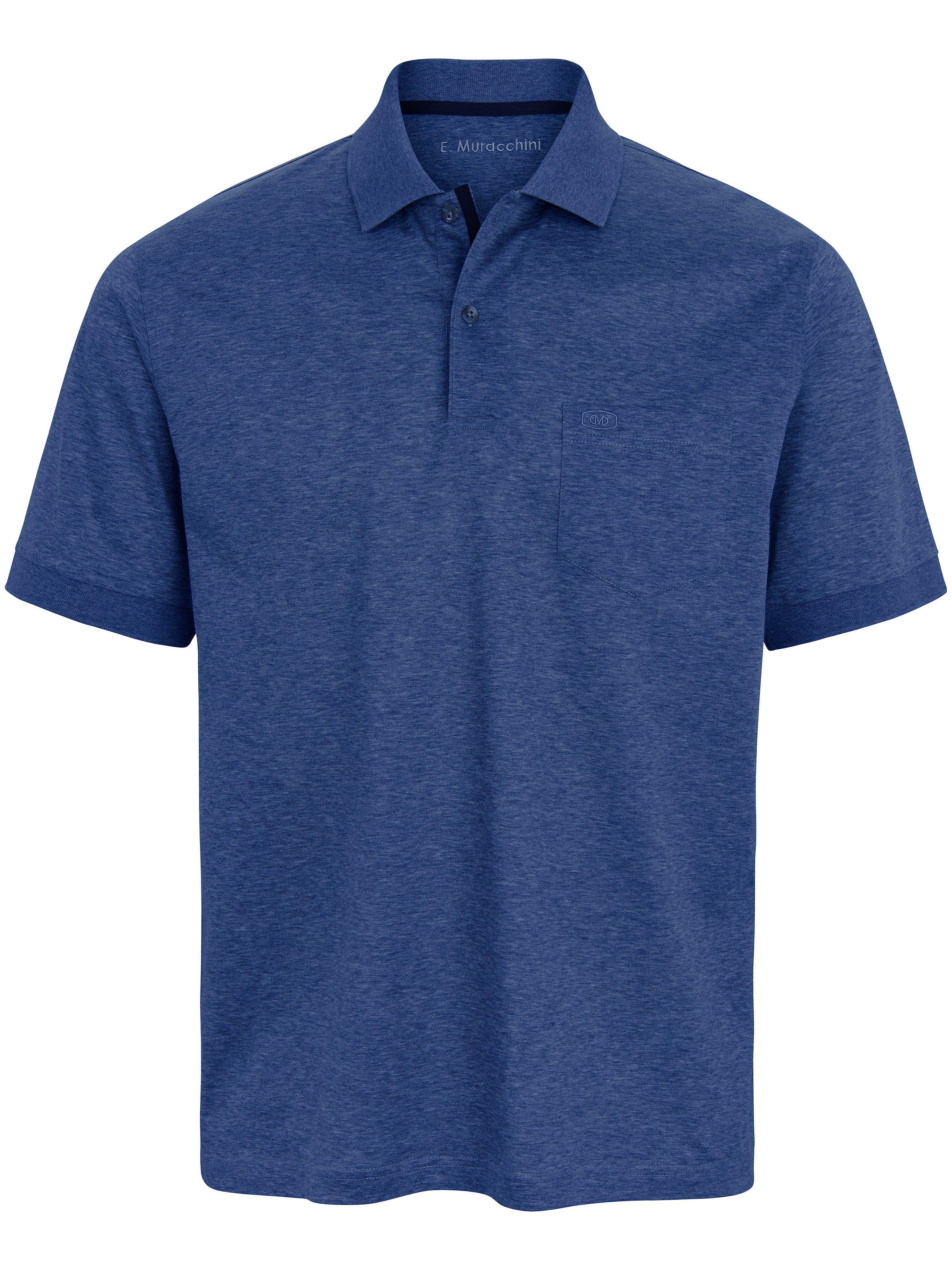 Poloshirt Van E.Muracchini blauw