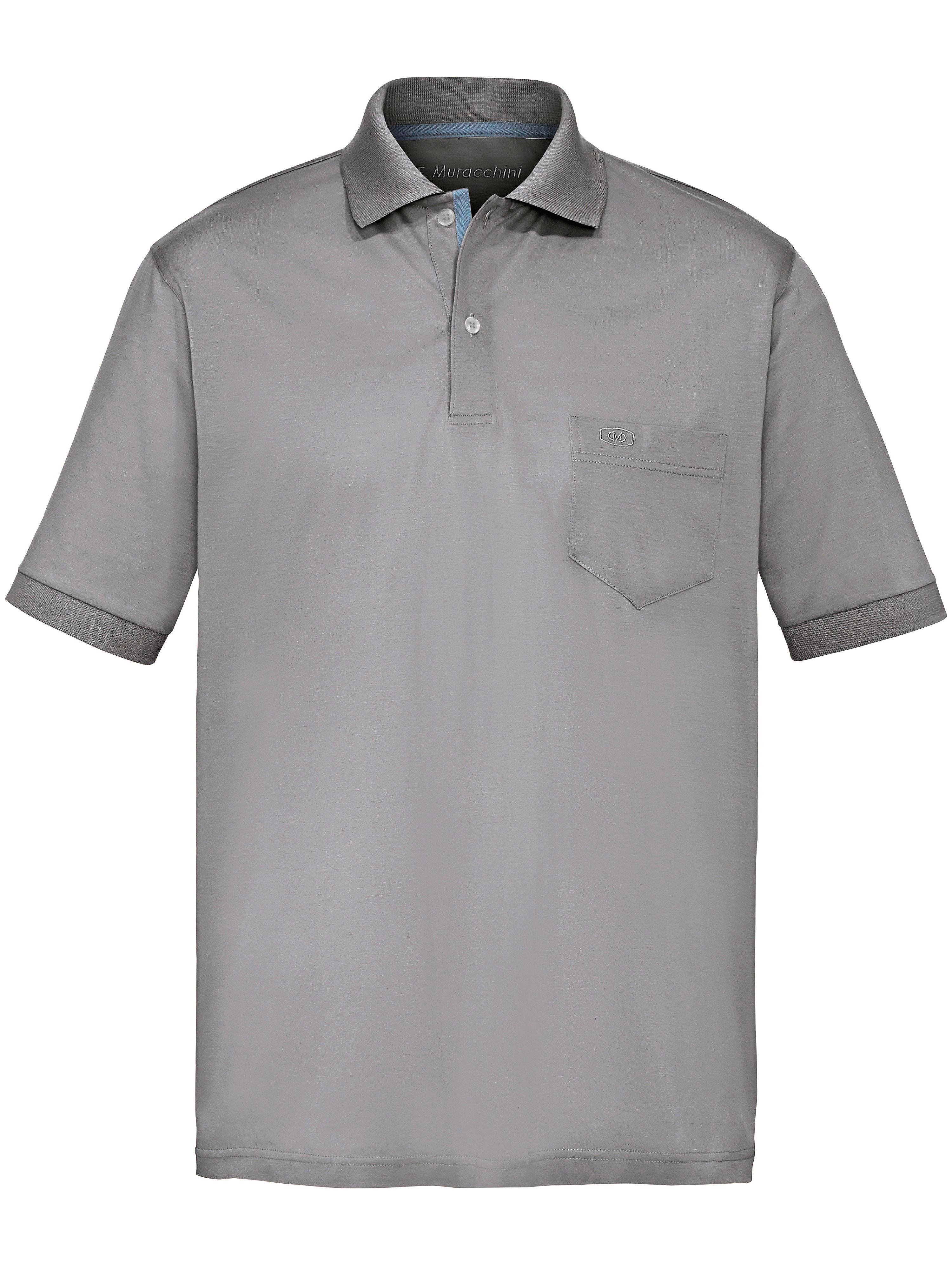 Image of   Poloshirt kort ærme Fra E.Muracchini grå