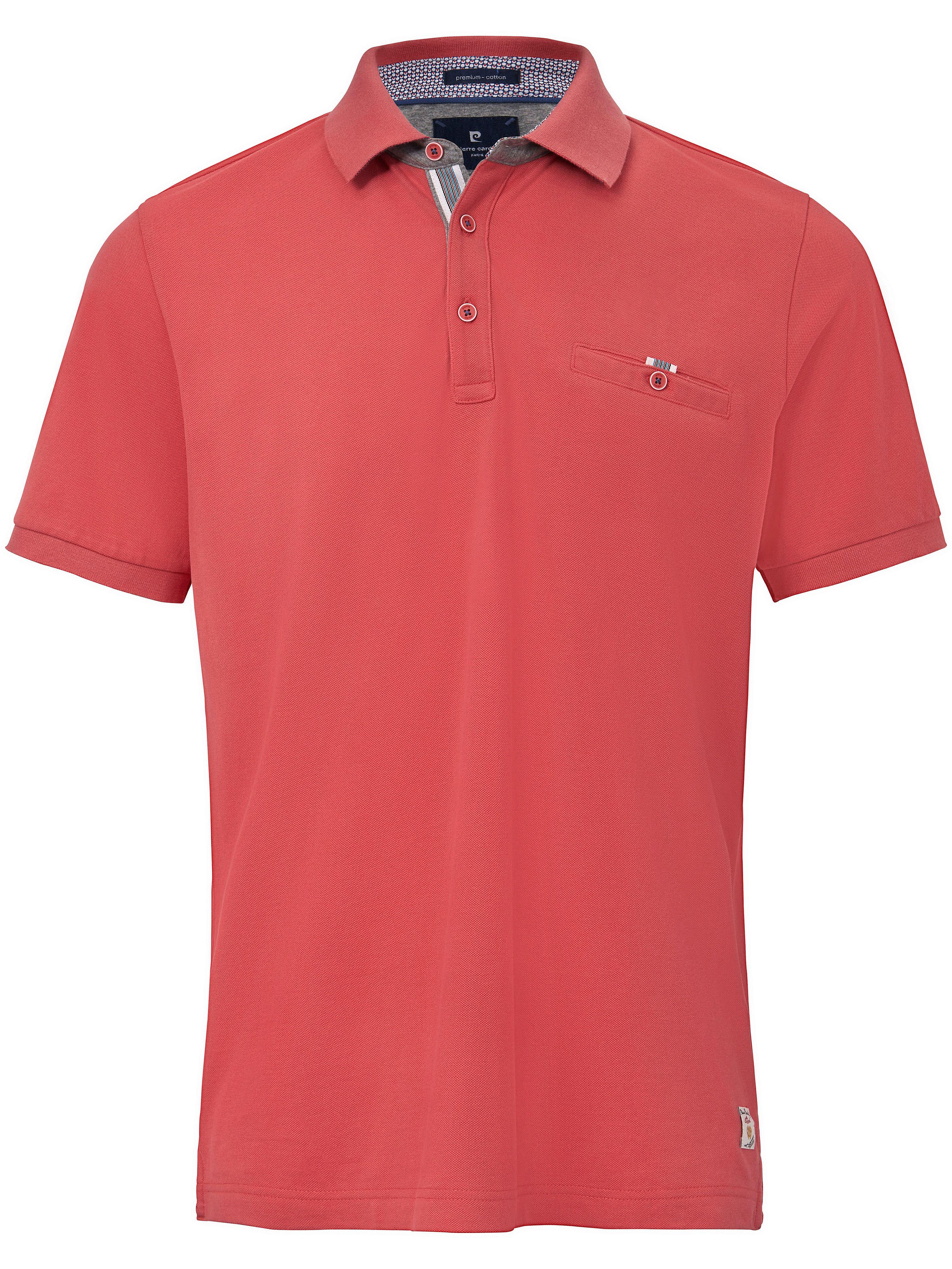 Image of   Poloshirt brystlomme og korte ærmer Fra Pierre Cardin rød