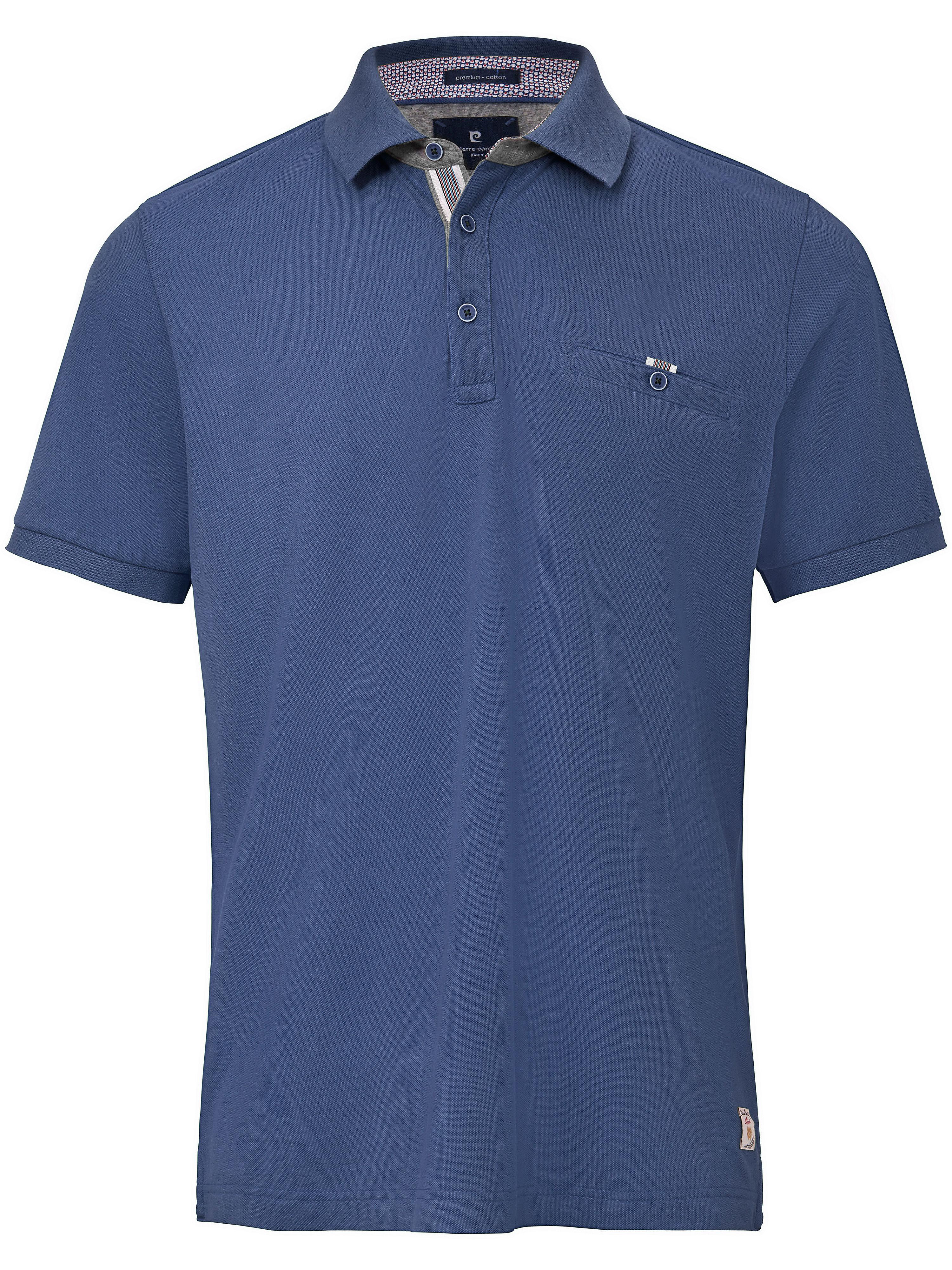 Image of   Poloshirt brystlomme og korte ærmer Fra Pierre Cardin blå