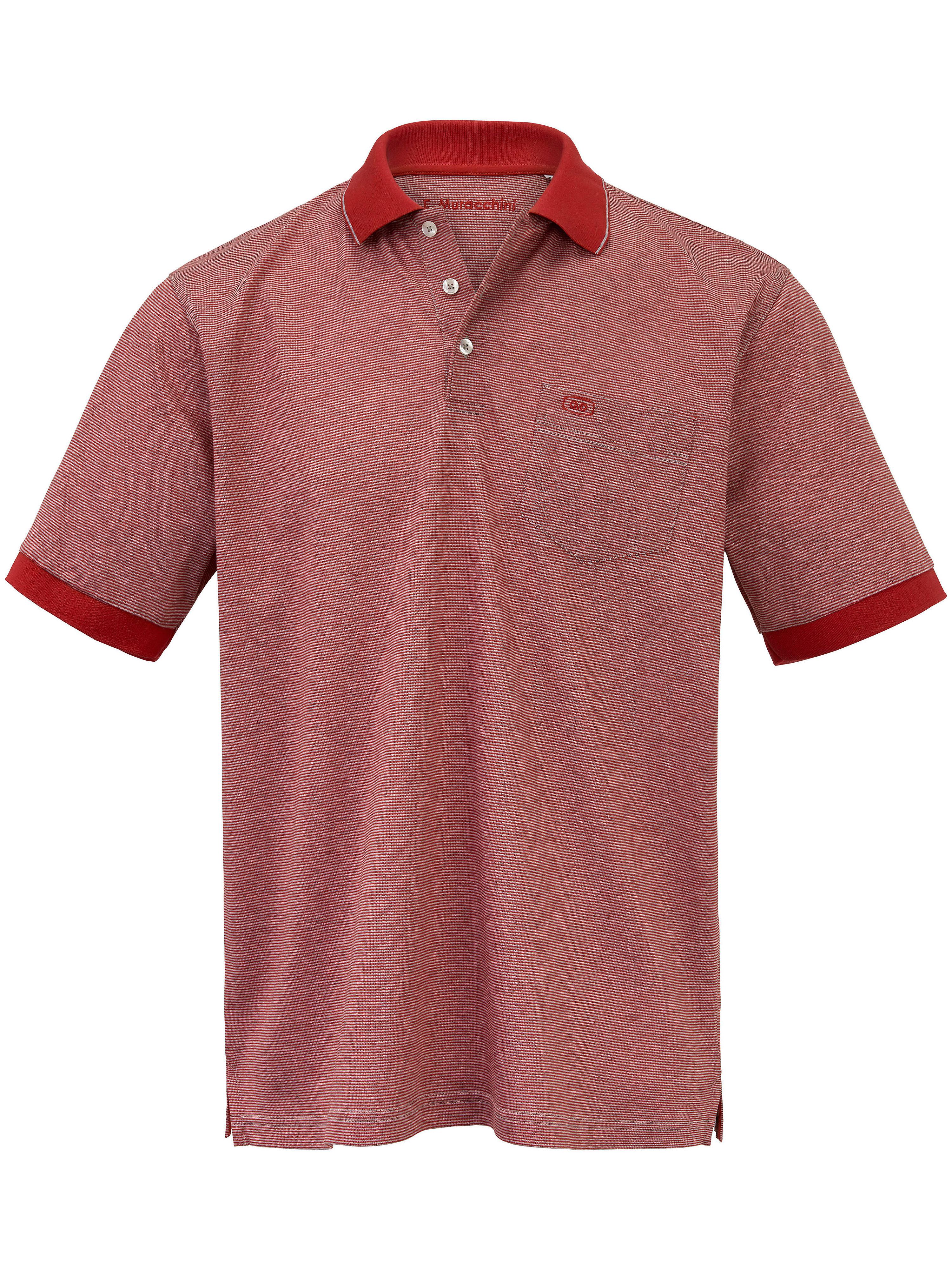 Image of   Poloshirt Fra E.Muracchini rød