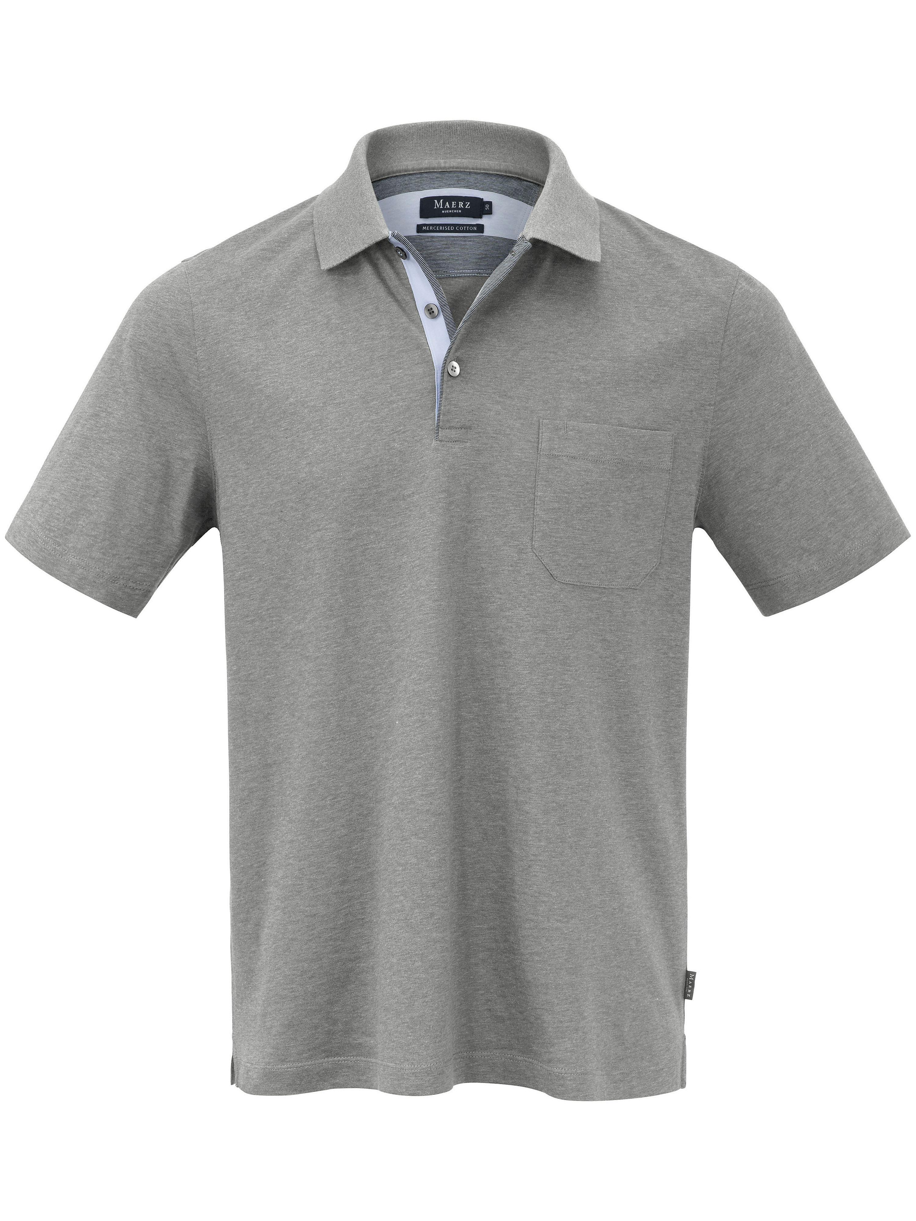 Polo-Shirt MAERZ Muenchen grau