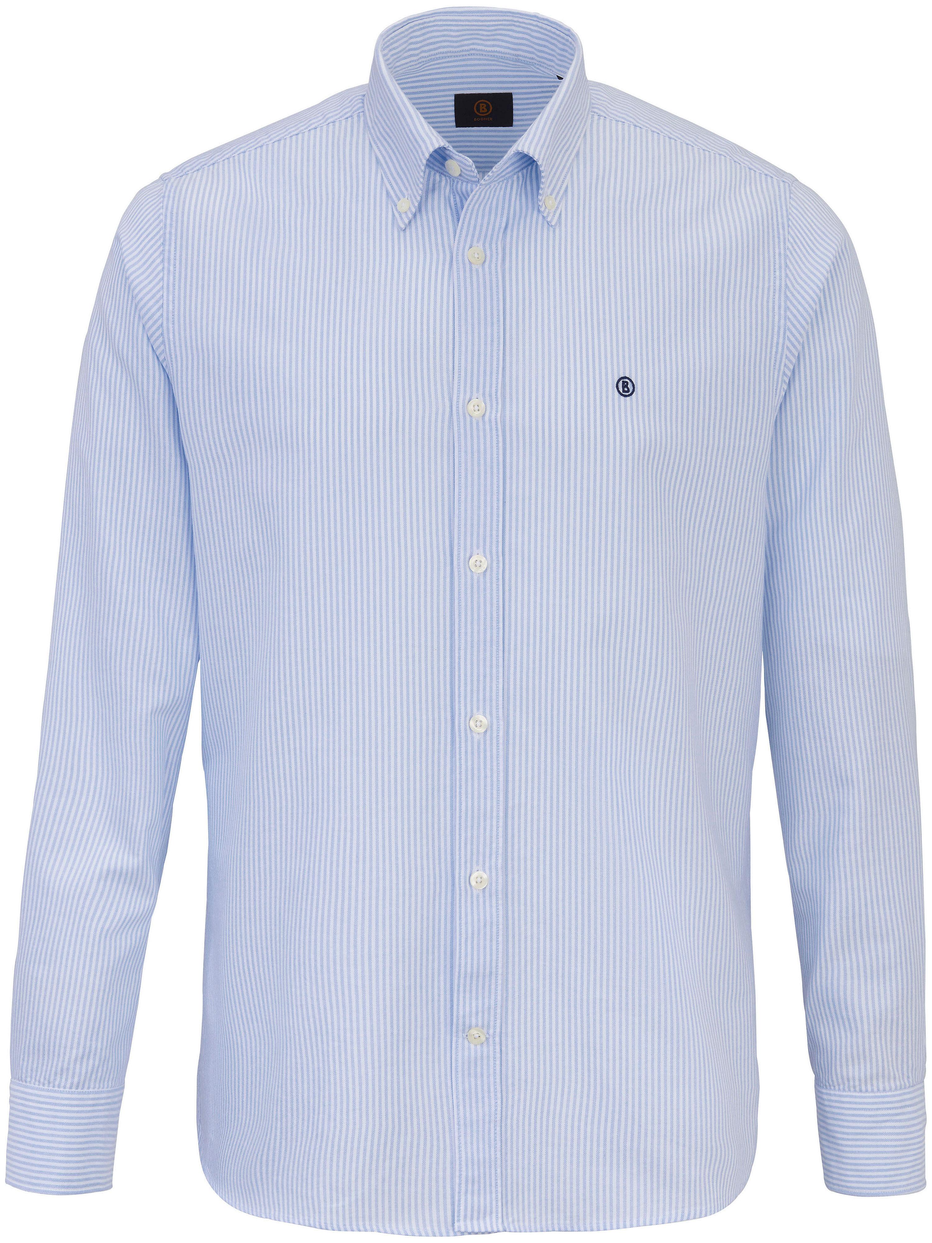 La chemise Oxford en pur coton  Bogner bleu