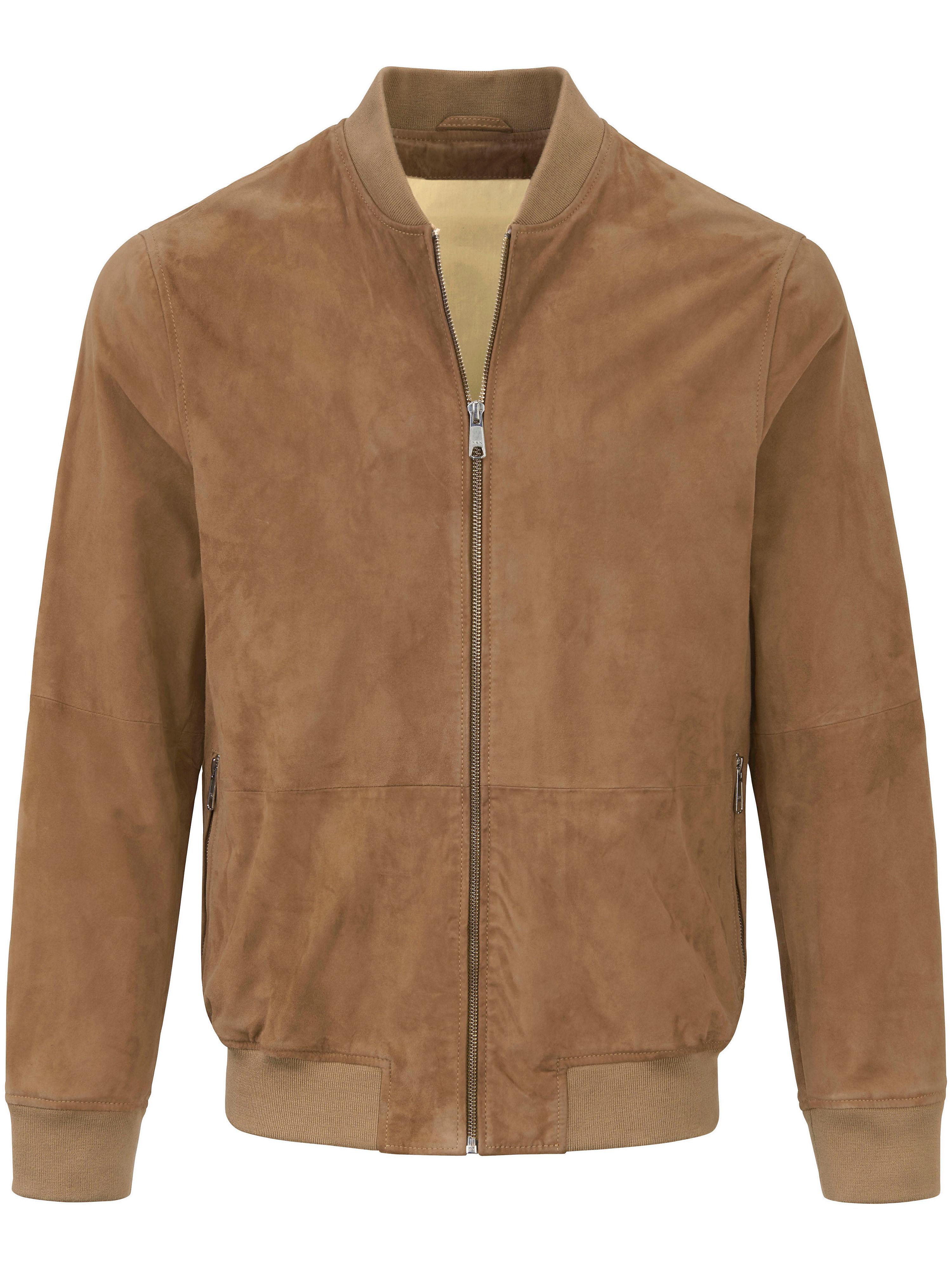 Image of   Skindblouson 100% skind Fra Peter Hahn brun