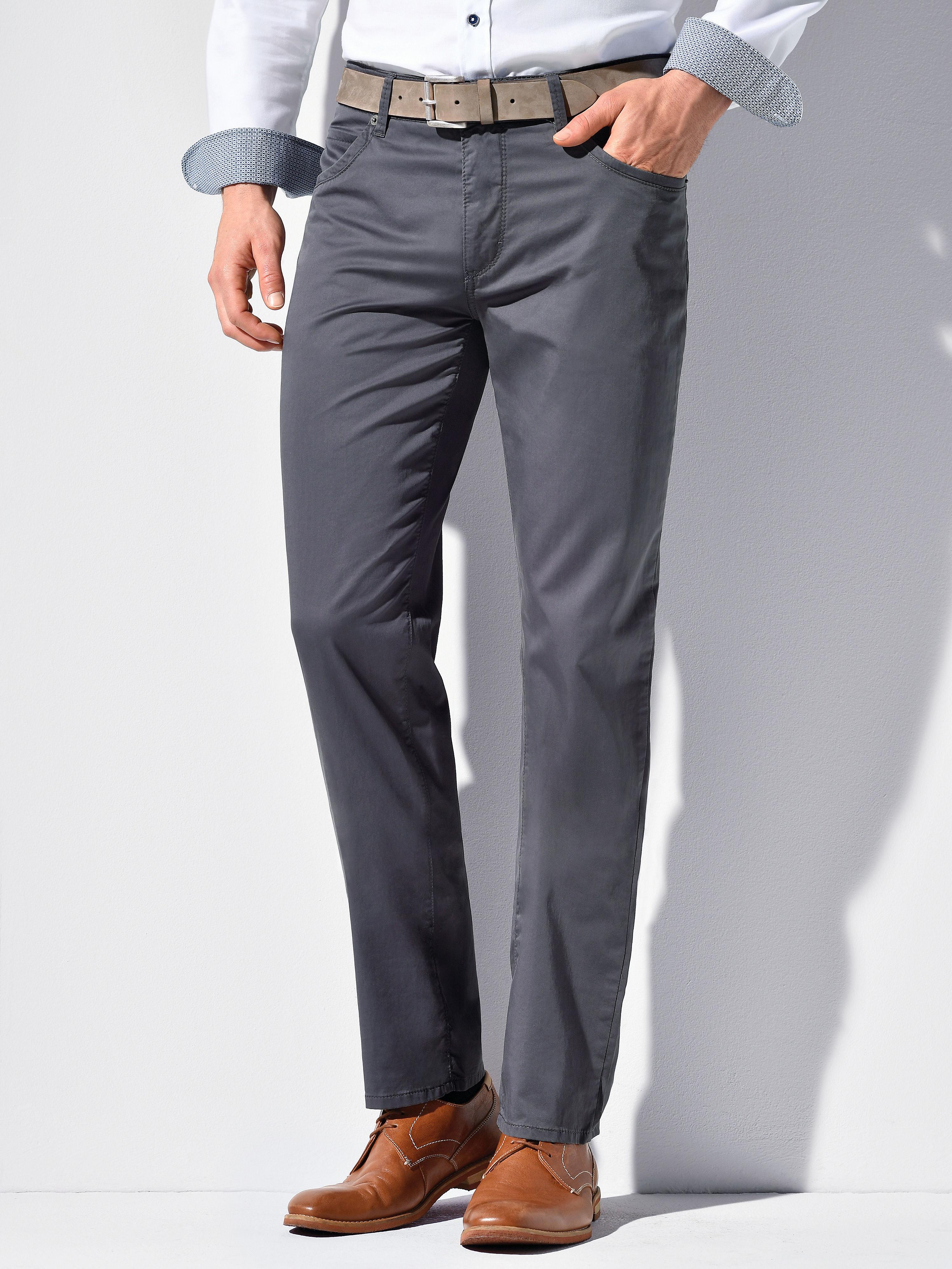 Image of   Bukser Comfortable Fit model Cadiz Fra Brax Feel Good grå