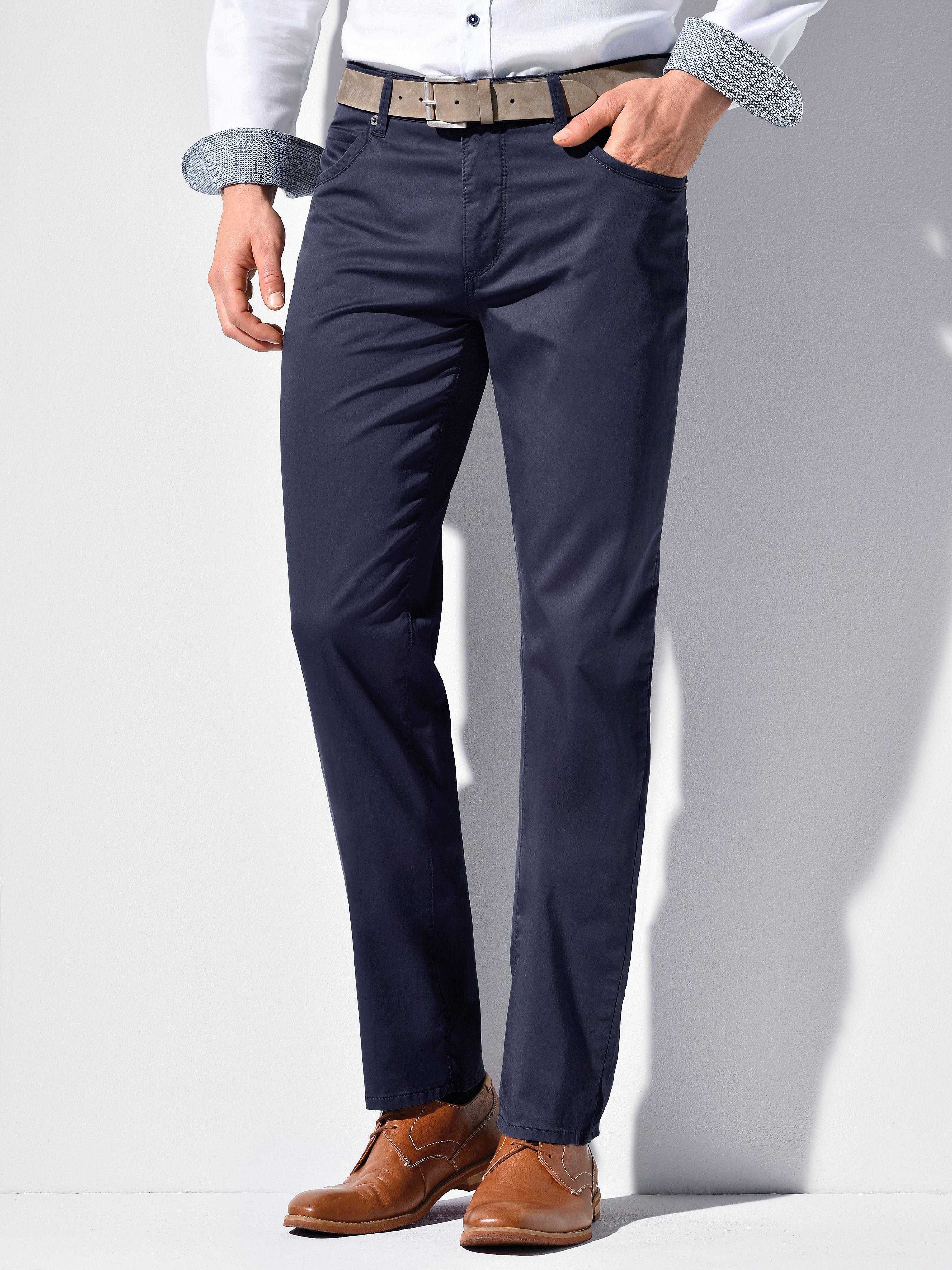 Image of   Bukser Comfortable Fit model Cadiz Fra Brax Feel Good blå