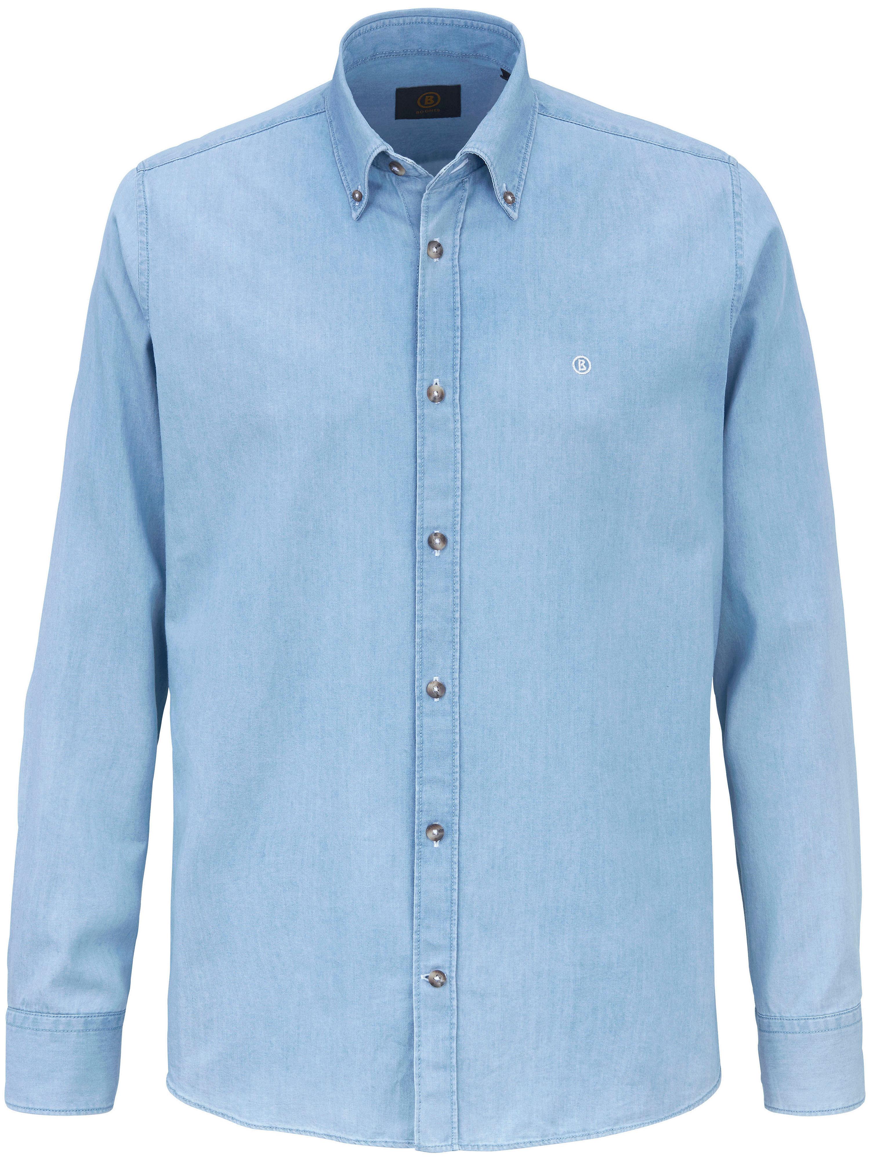 La chemise en pur coton, col à pointes  Bogner denim
