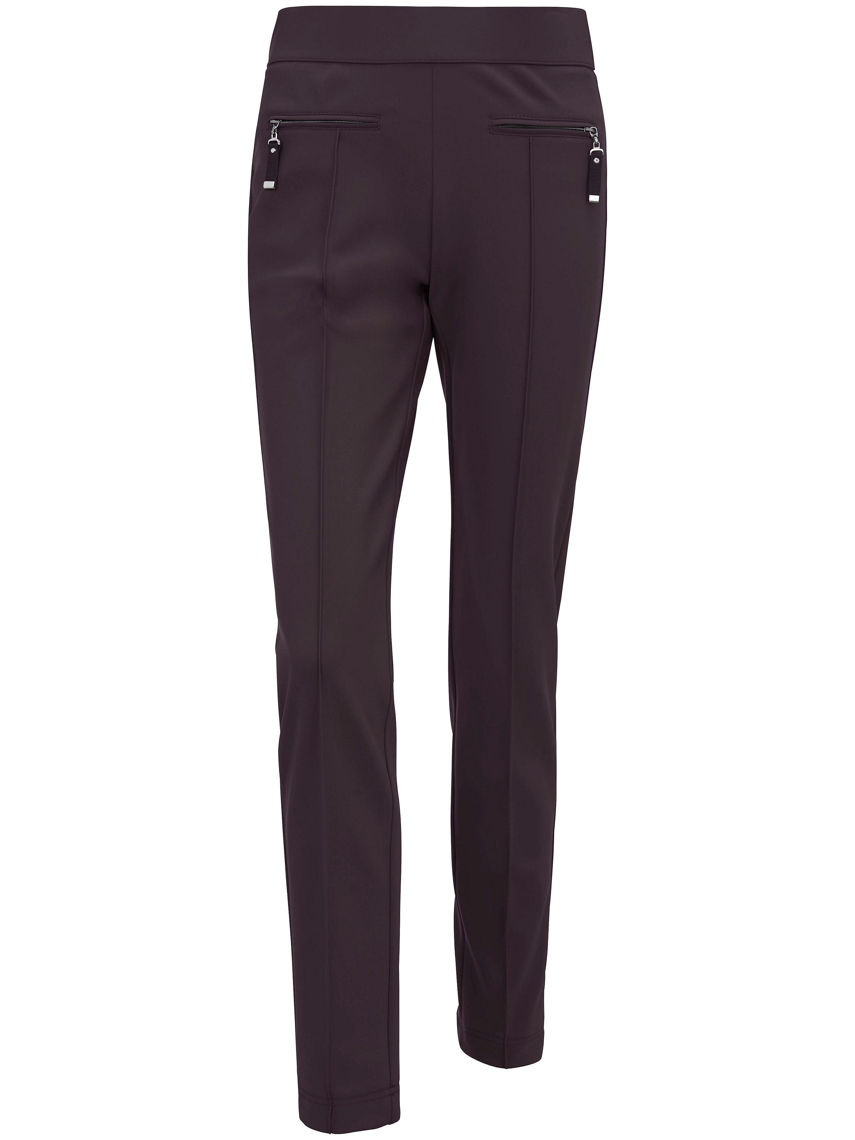Le pantalon slim en jersey modèle OTTI  Raffaello Rossi rouge