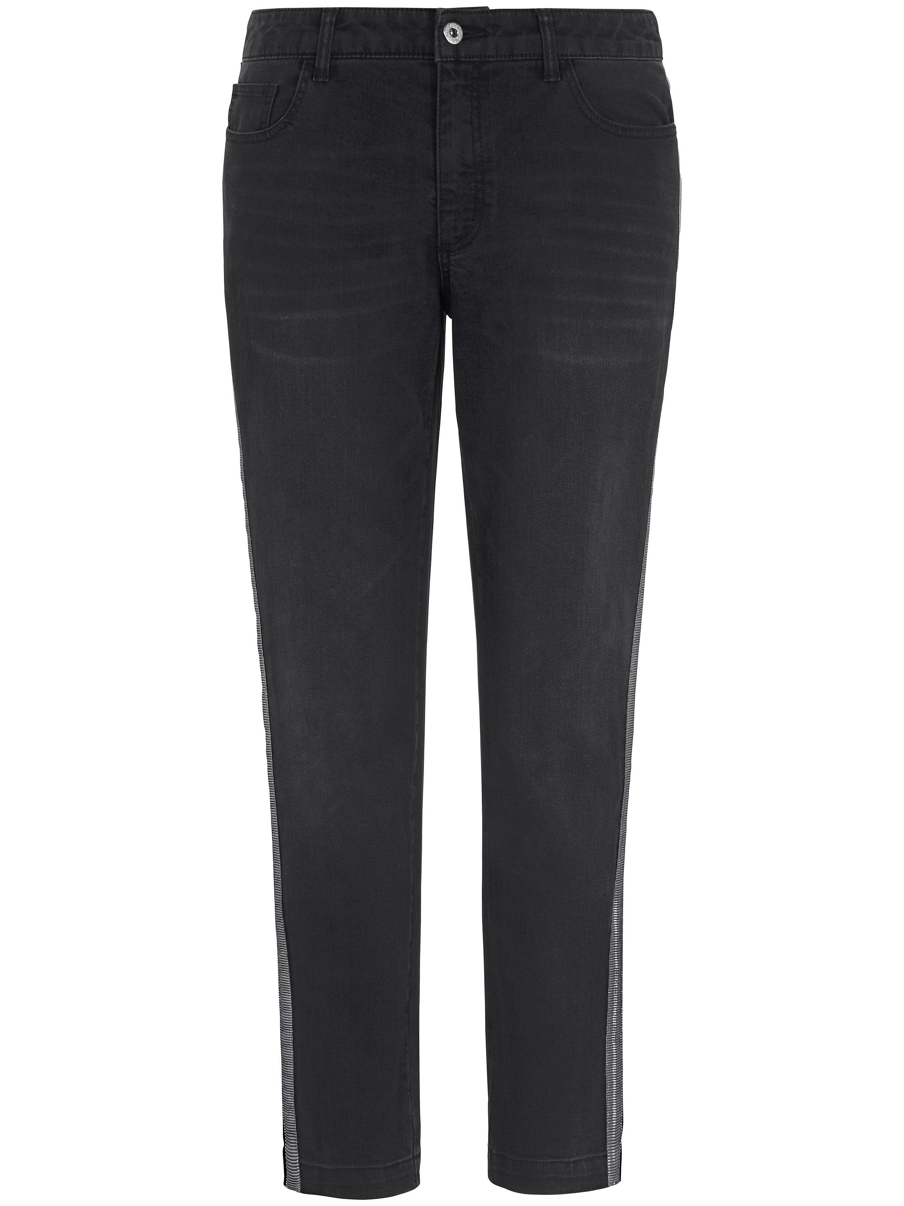 Image of   Ankellange jeans Fra Emilia Lay grå