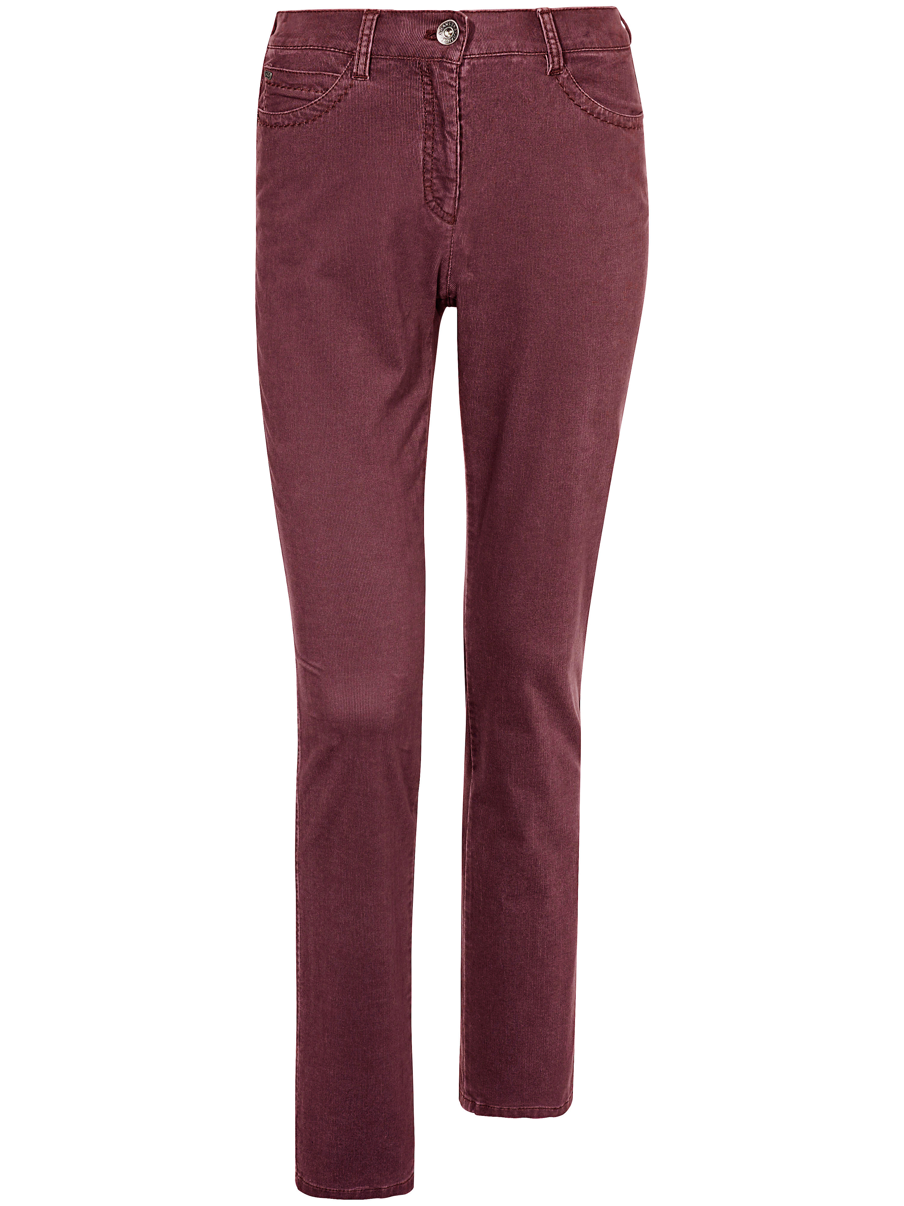 Le pantalon Feminine Fit  Brax Feel Good rouge