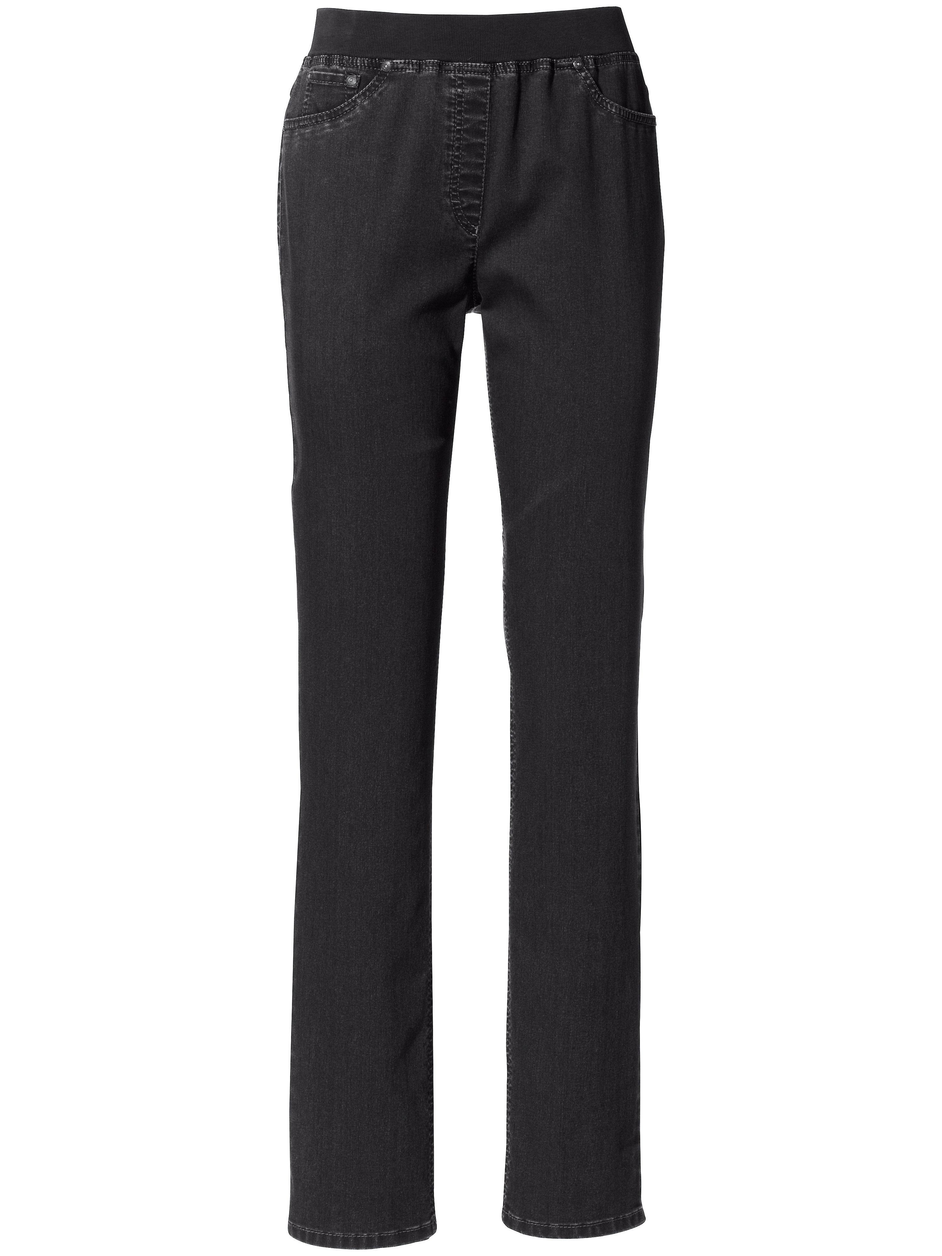 Le pantalon ProForm Slim, modèle PAMINA  Raphaela by Brax denim
