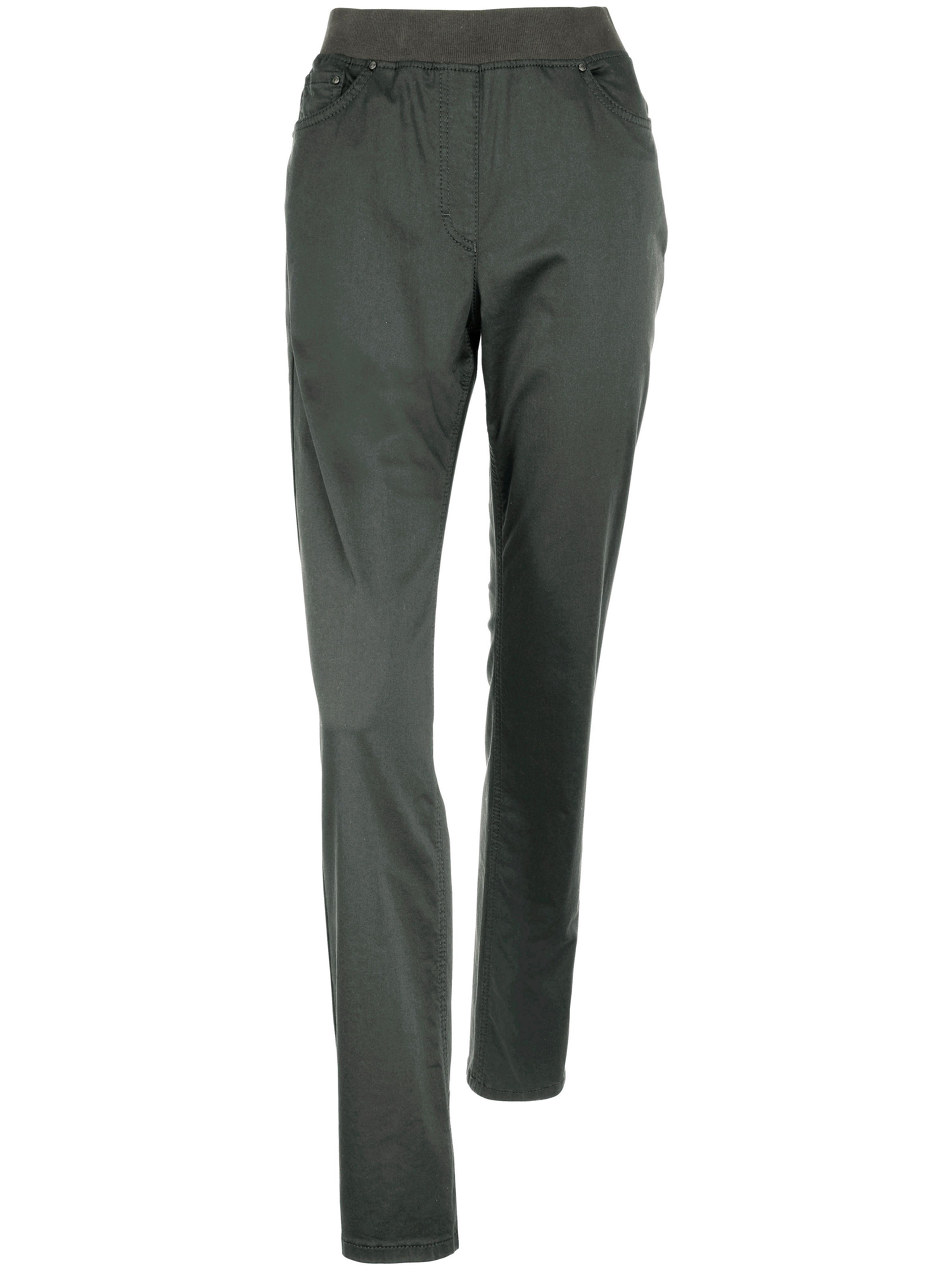 Comfort Plus-broek, model Carina Van Raphaela by Brax groen