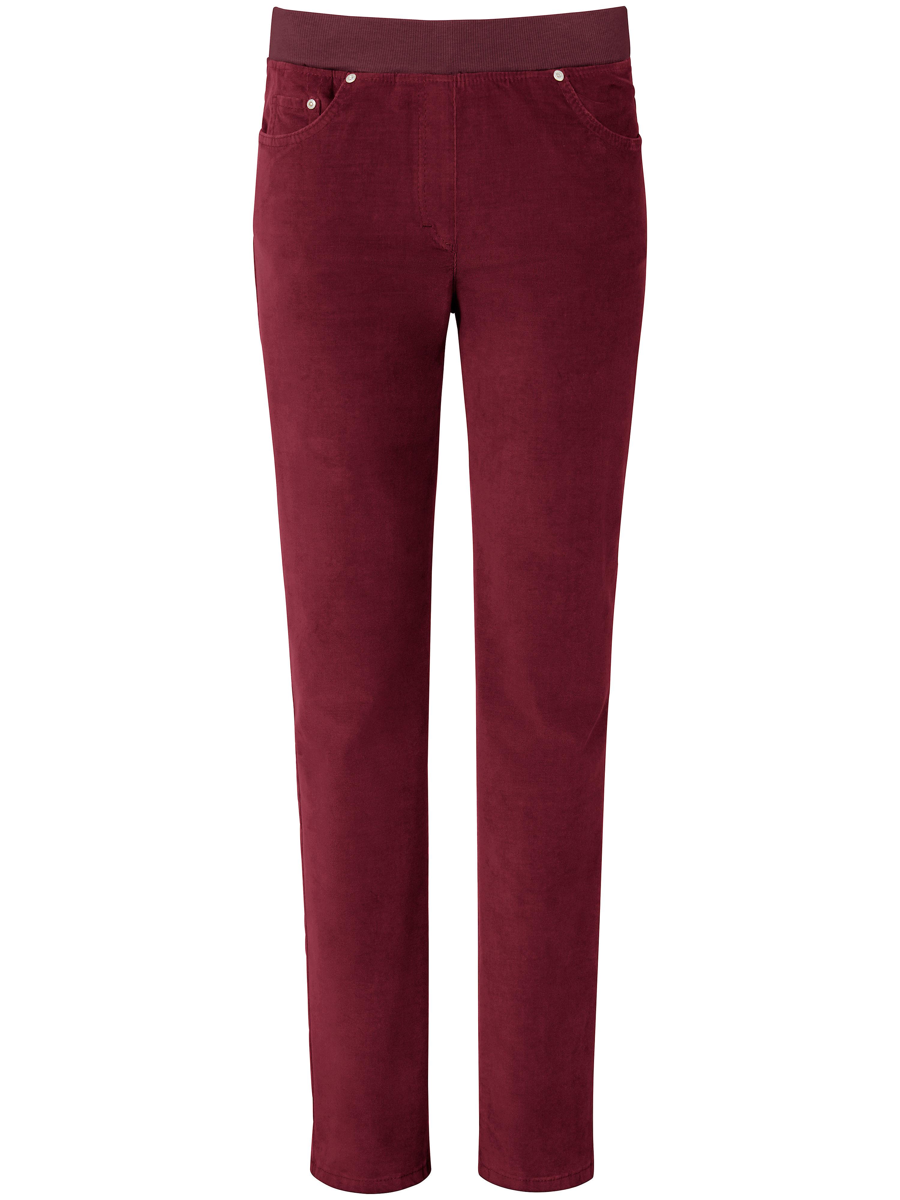Le pantalon  Raphaela by Brax rouge taille 19