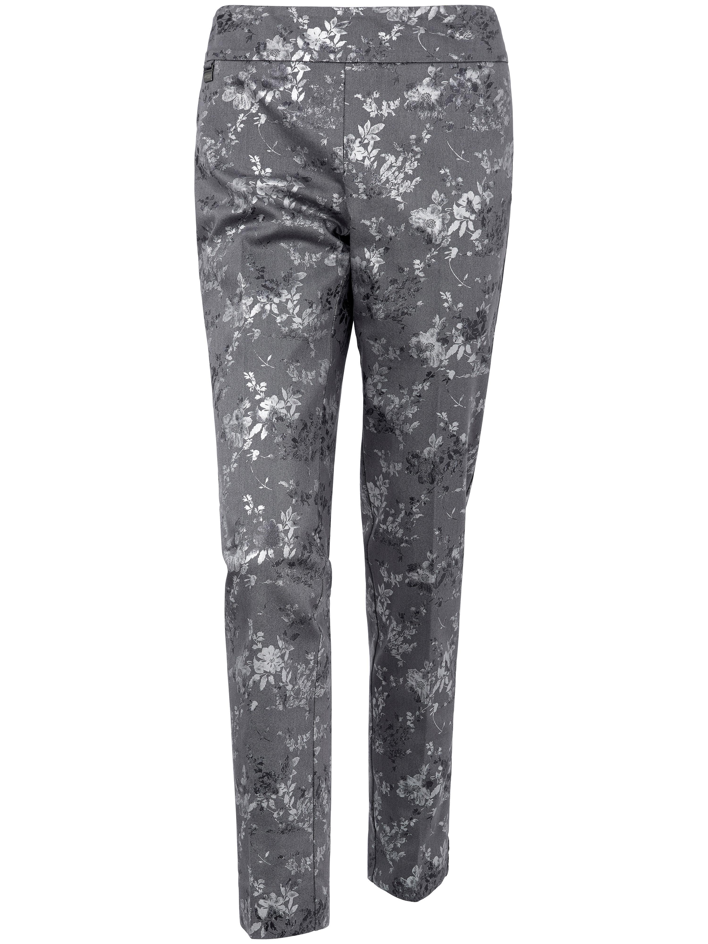 Le pantalon modelant imprimé  Lisette L. gris