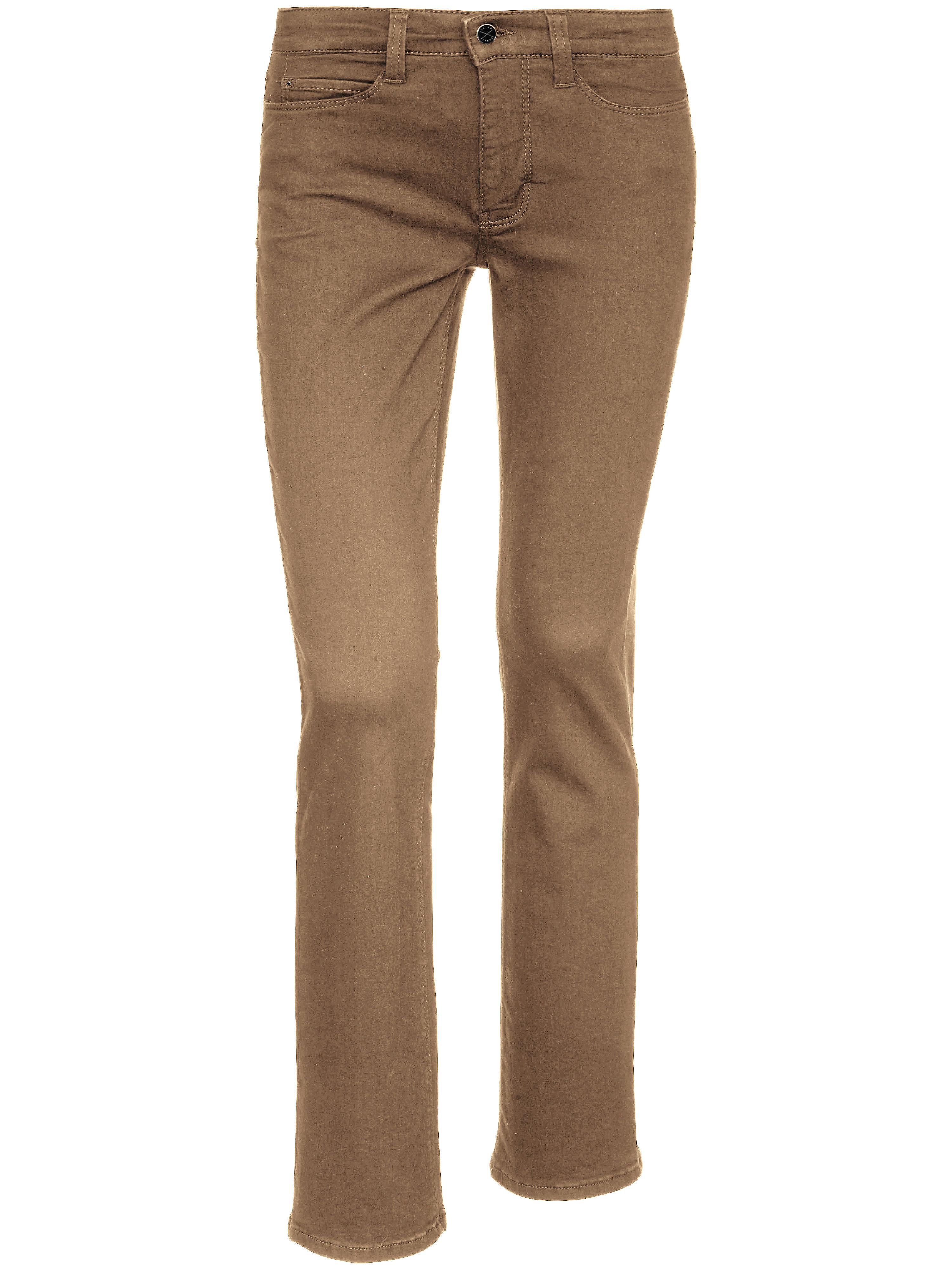 Jeans, model 'Dream Skinny', lengte: 28 inch Van Mac beige