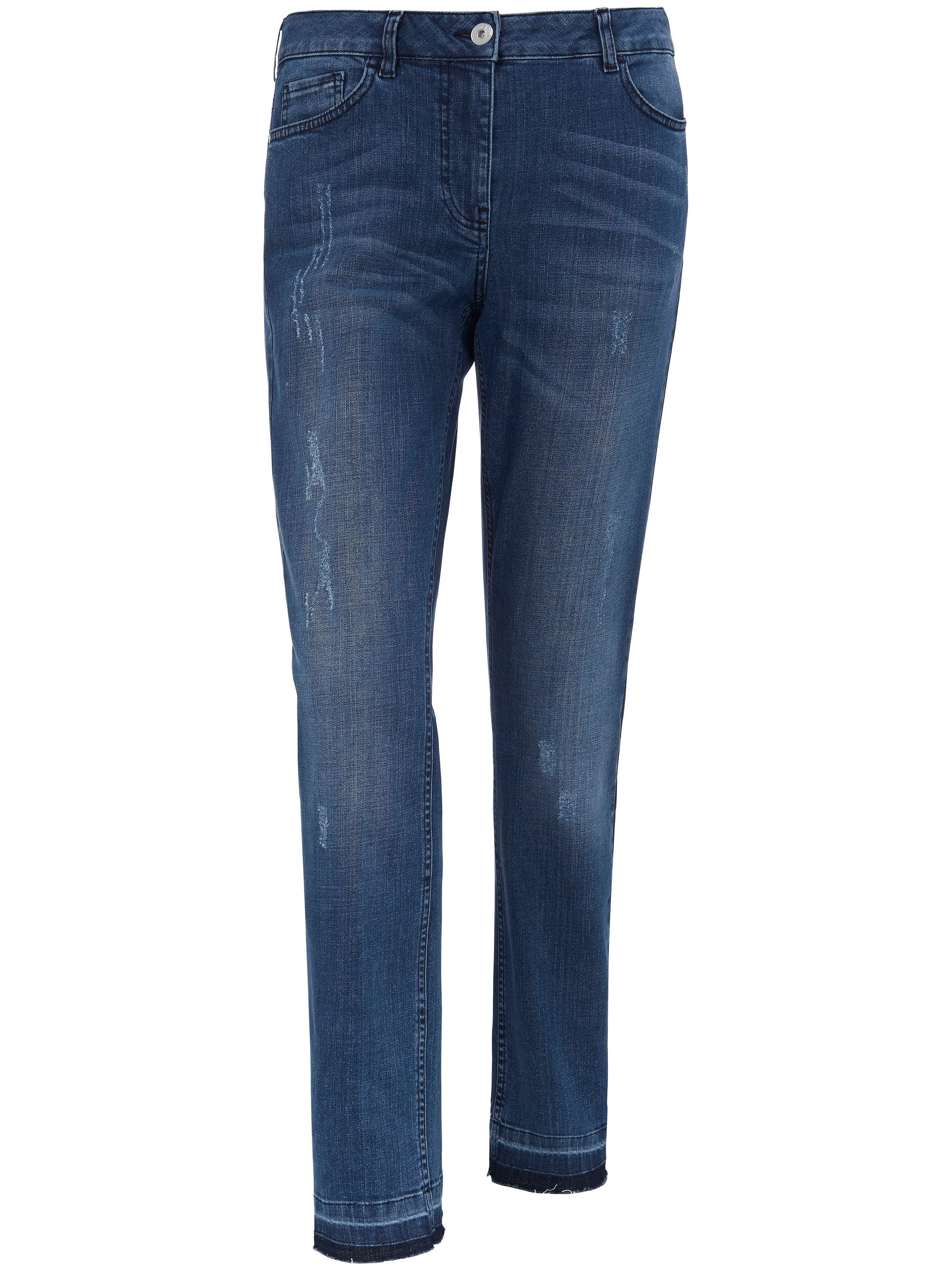 Image of   Ankellange jeans Fra FRAPP blå