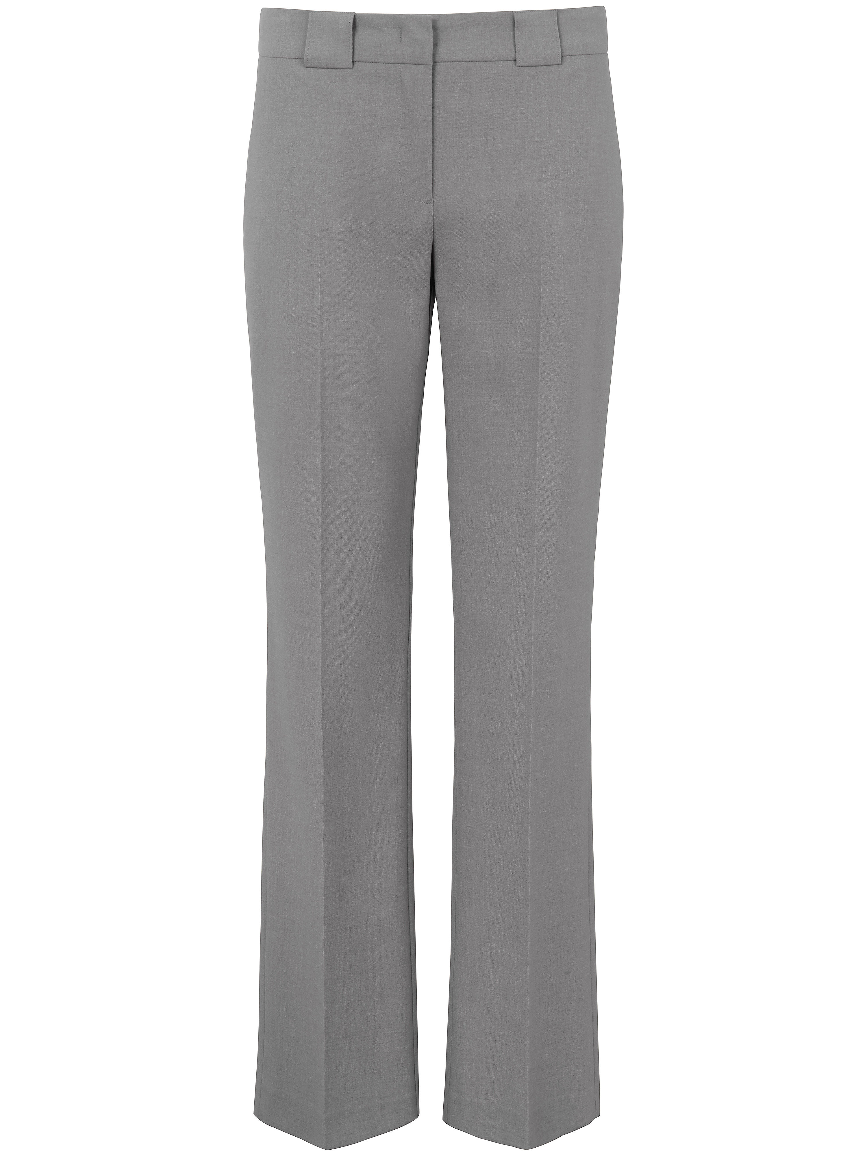 Le pantalon coupe Barbara  Peter Hahn gris taille 19