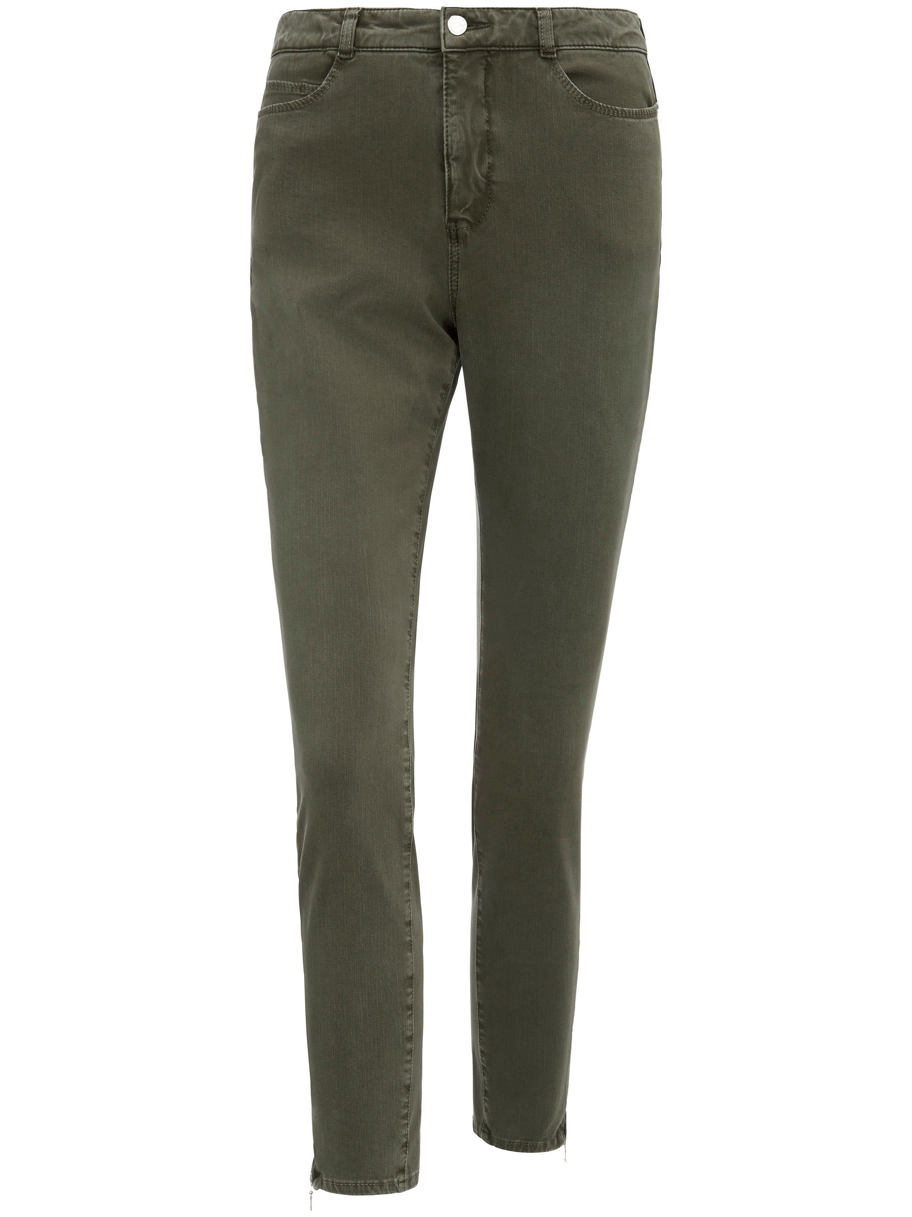 Image of   Ankellange jeans 'Dream Sensation Skinny' fra Mac Fra Mac grøn