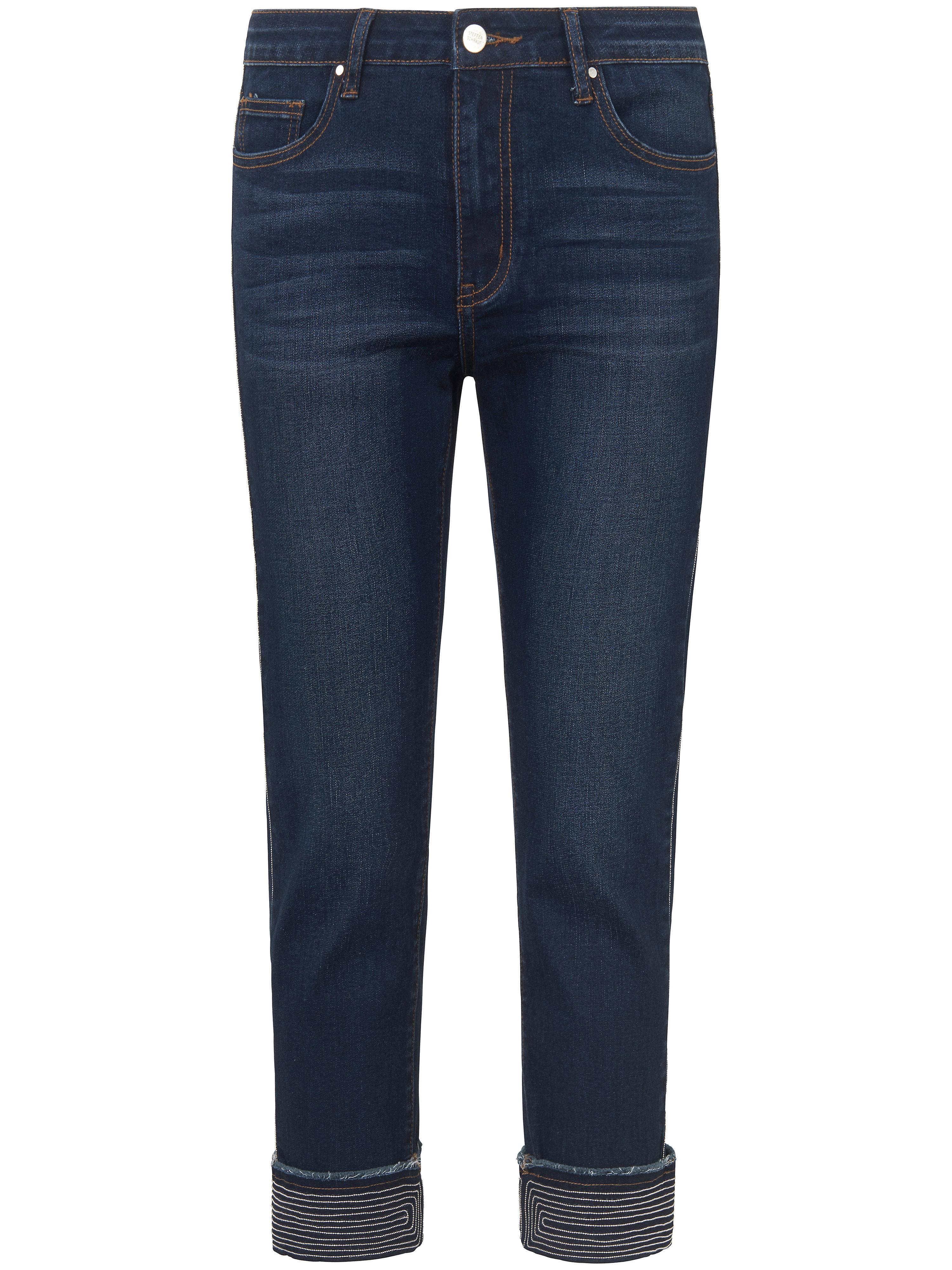 Image of   7/8-jeans Fra Steffen Schraut denim