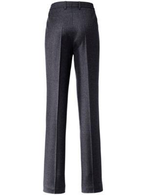 Pasvormbroek van toni dress, voor de slankelijn: 97%scheerwol, 3%elastan, bi stretch. de speciale snit lost ...