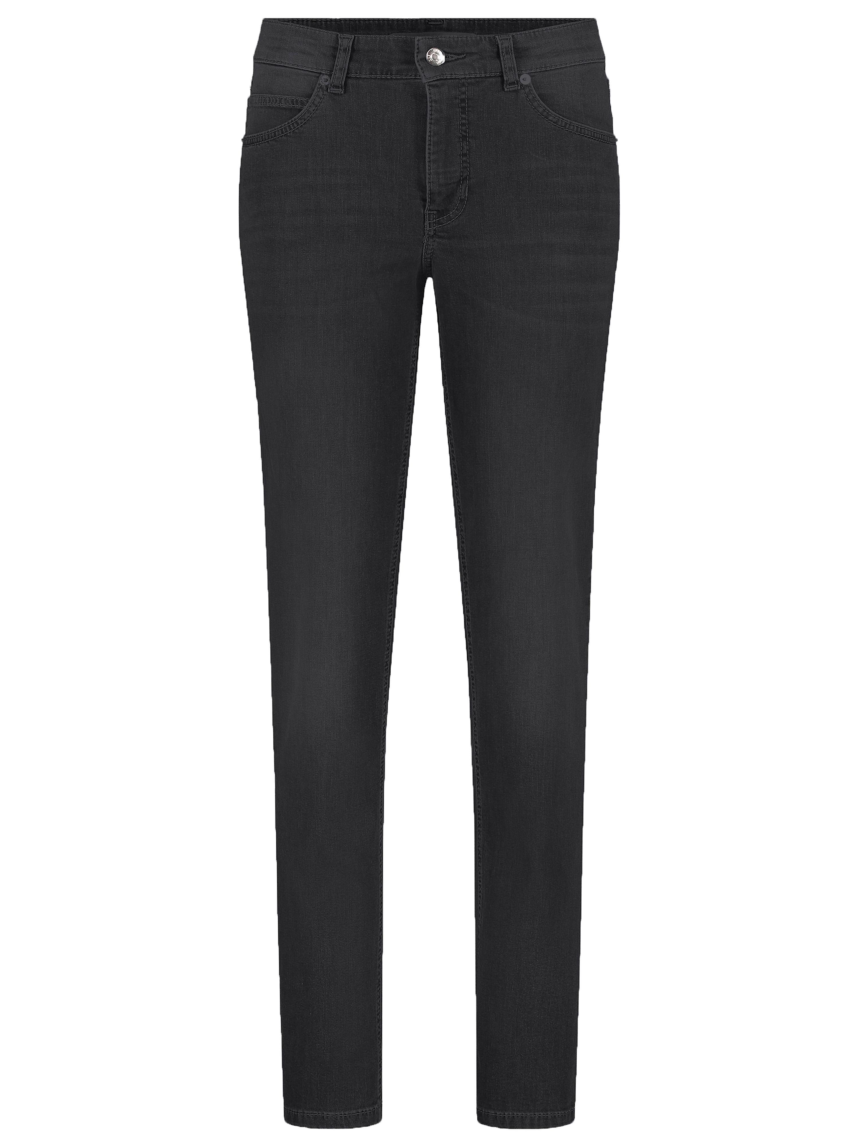 'Feminine Fit'-jeans Inch 32 Van Mac grijs