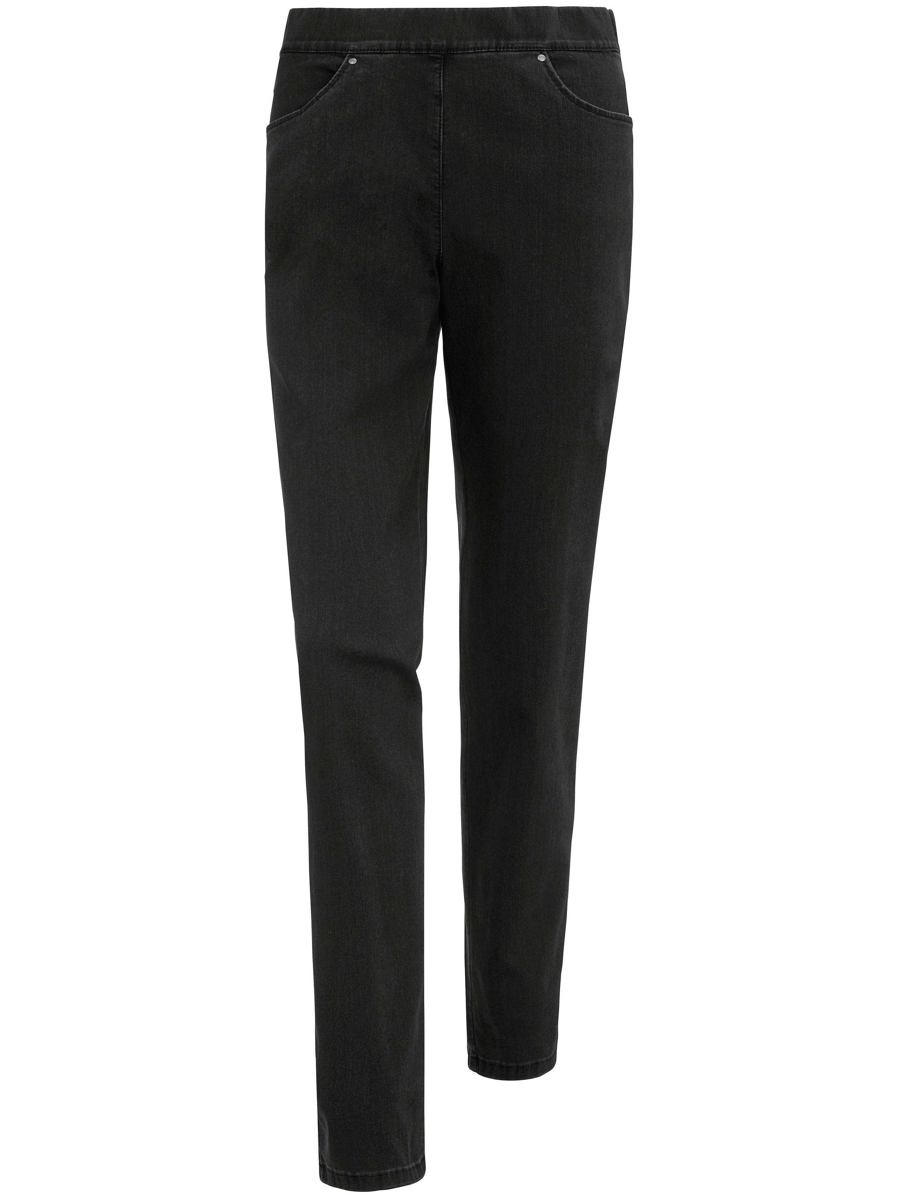 Image of   Bekvemme jeans Fra Peter Hahn sort