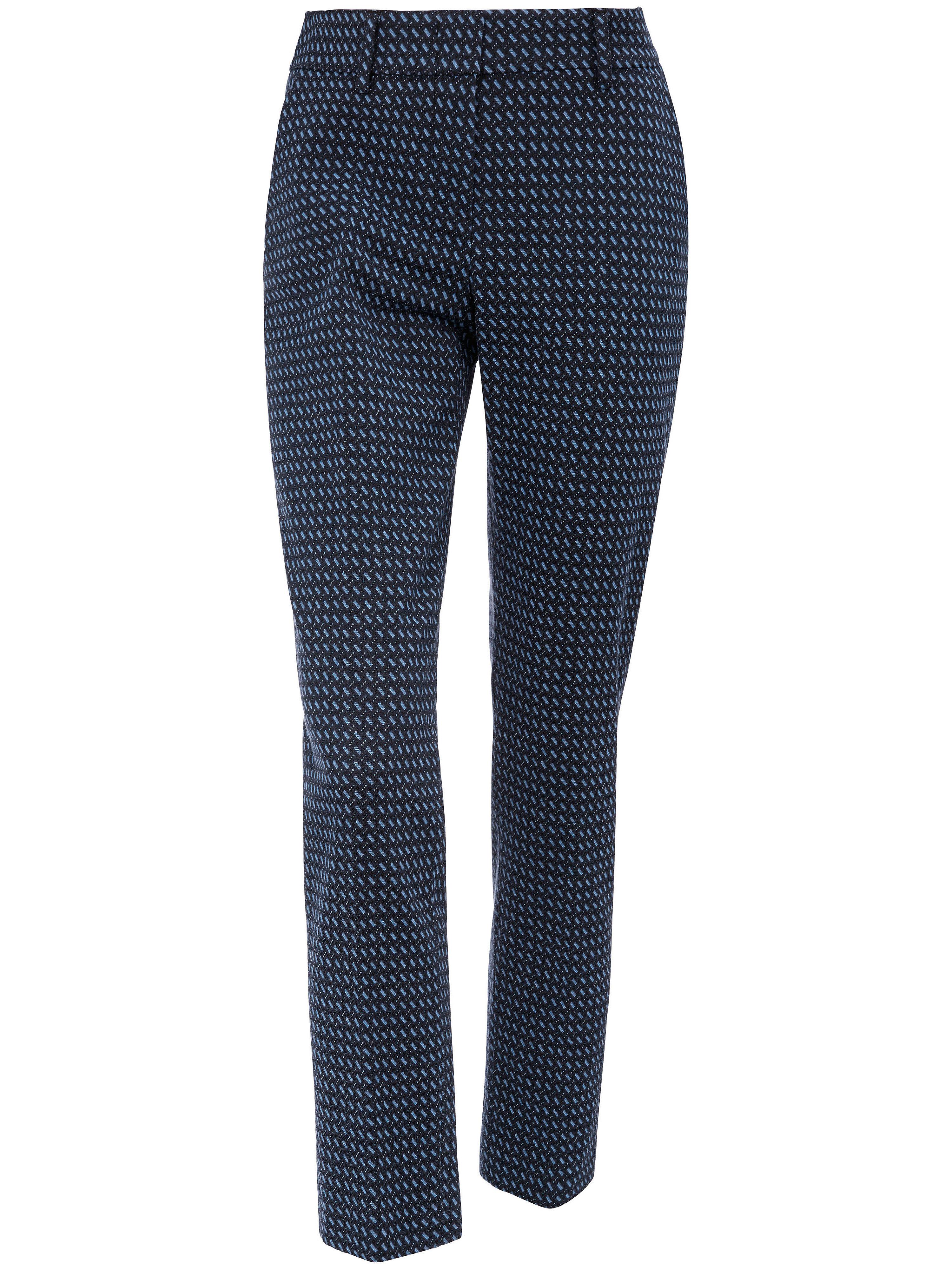 Le pantalon 7/8 - Modèle DORA  Raffaello Rossi bleu