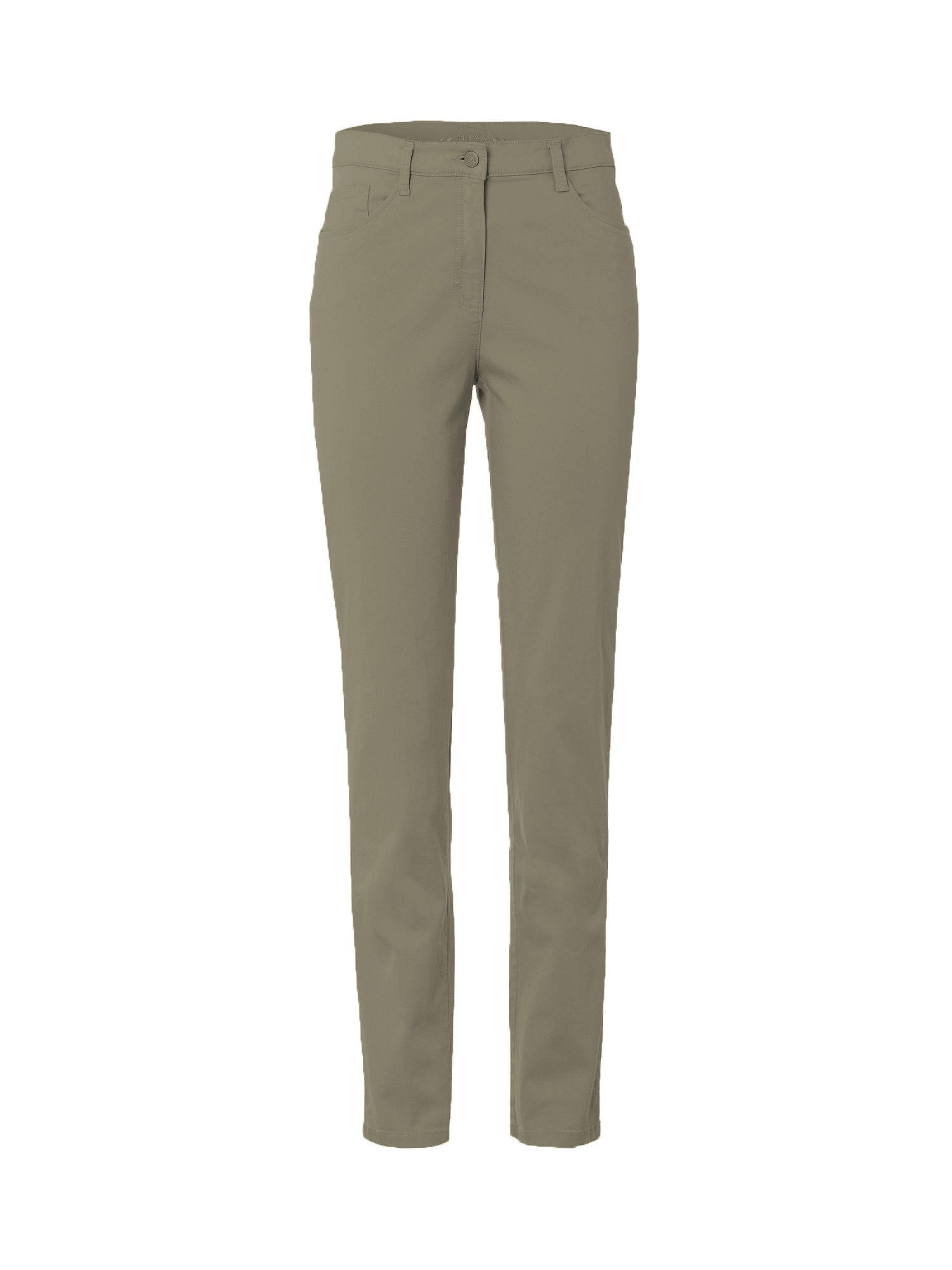 Image of Slim fit jeans, model Mary Van Brax Feel Good groen