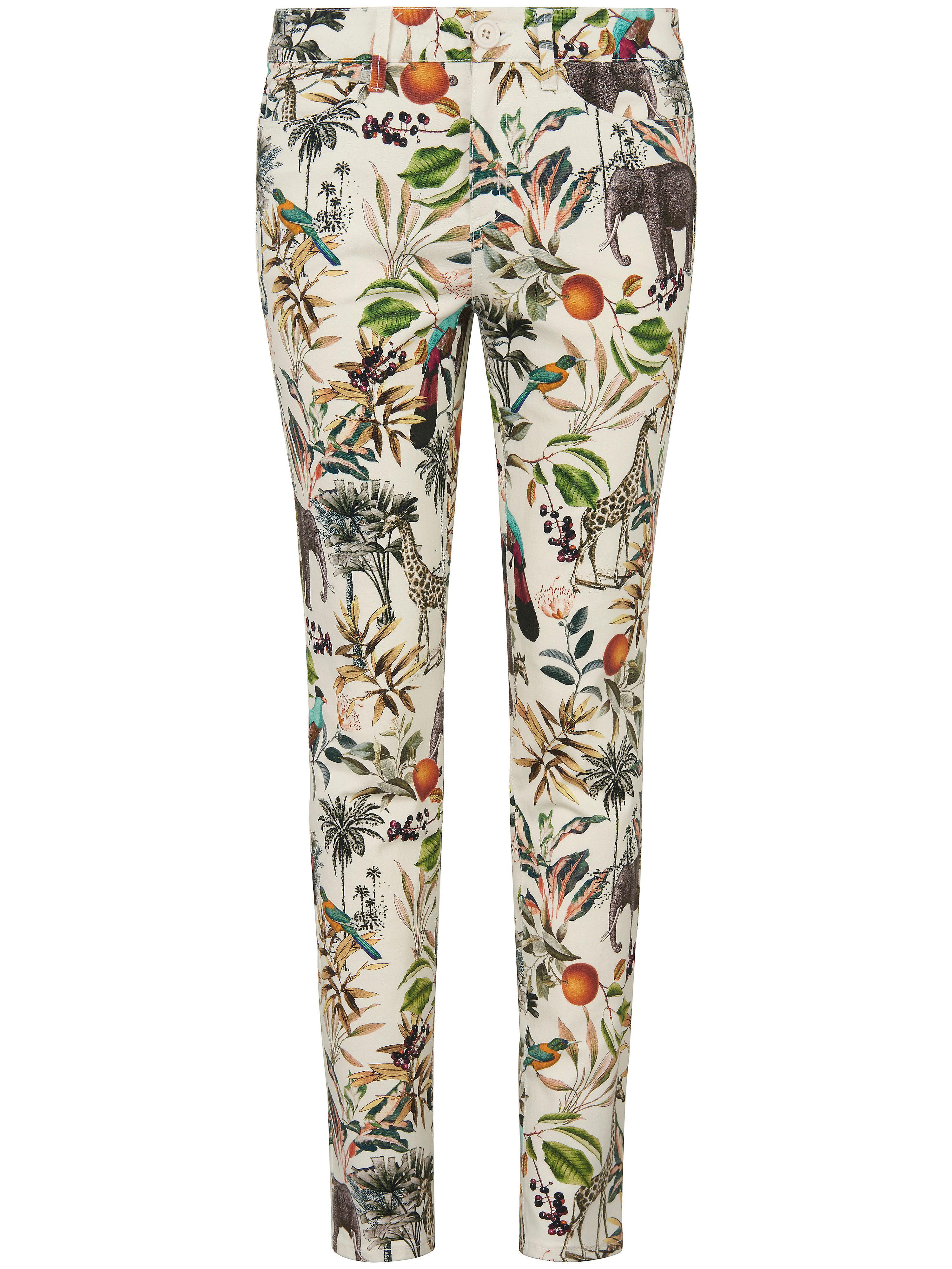 Image of   Ankellange jeans Fra MYBC hvid