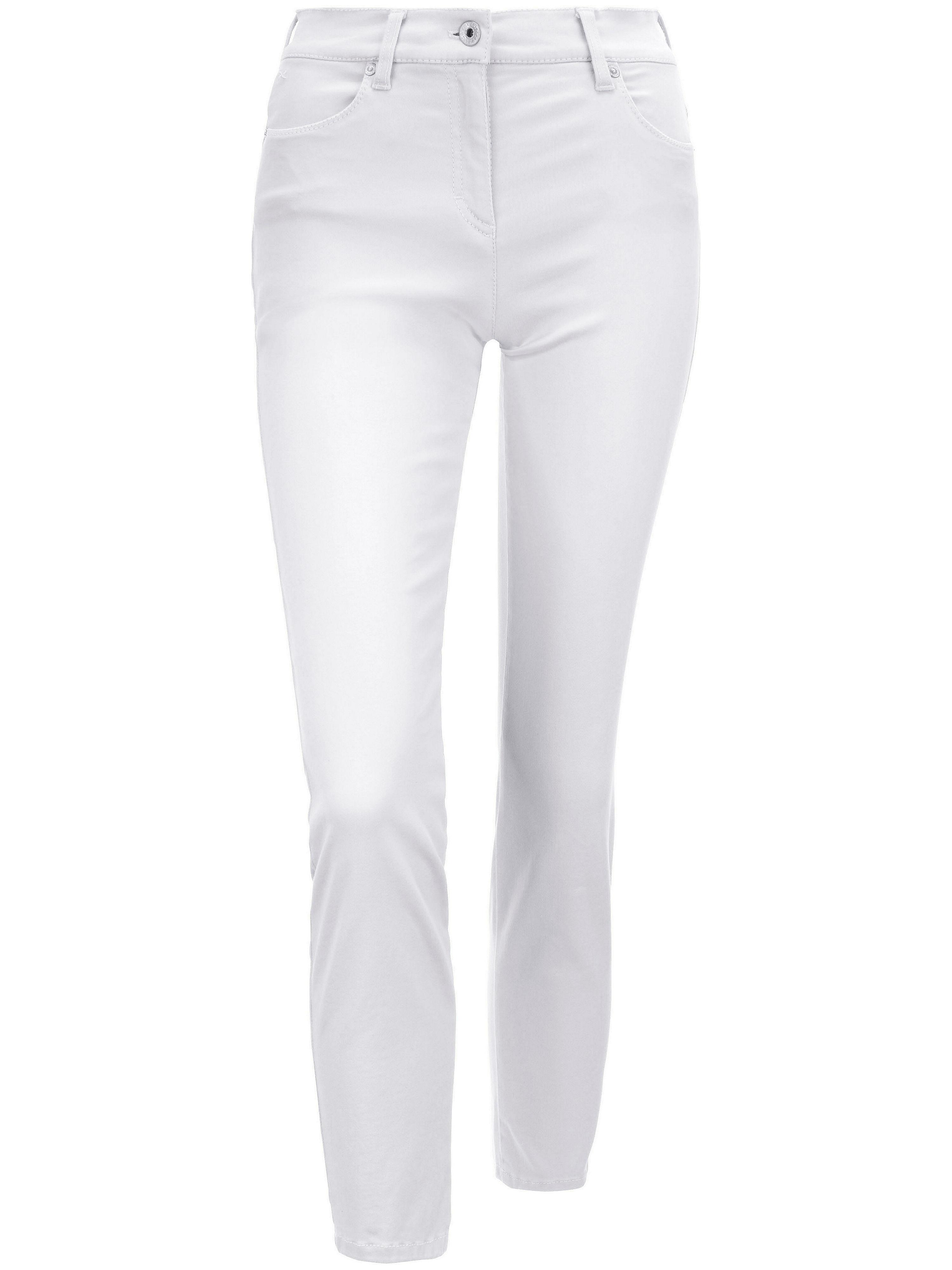 Image of   Ankellange jeans Fra Brax Feel Good hvid