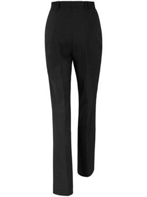 'comfortplus' broek van raphaela by brax. model carla in comfortabele pasvorm met elastische band achter, ...