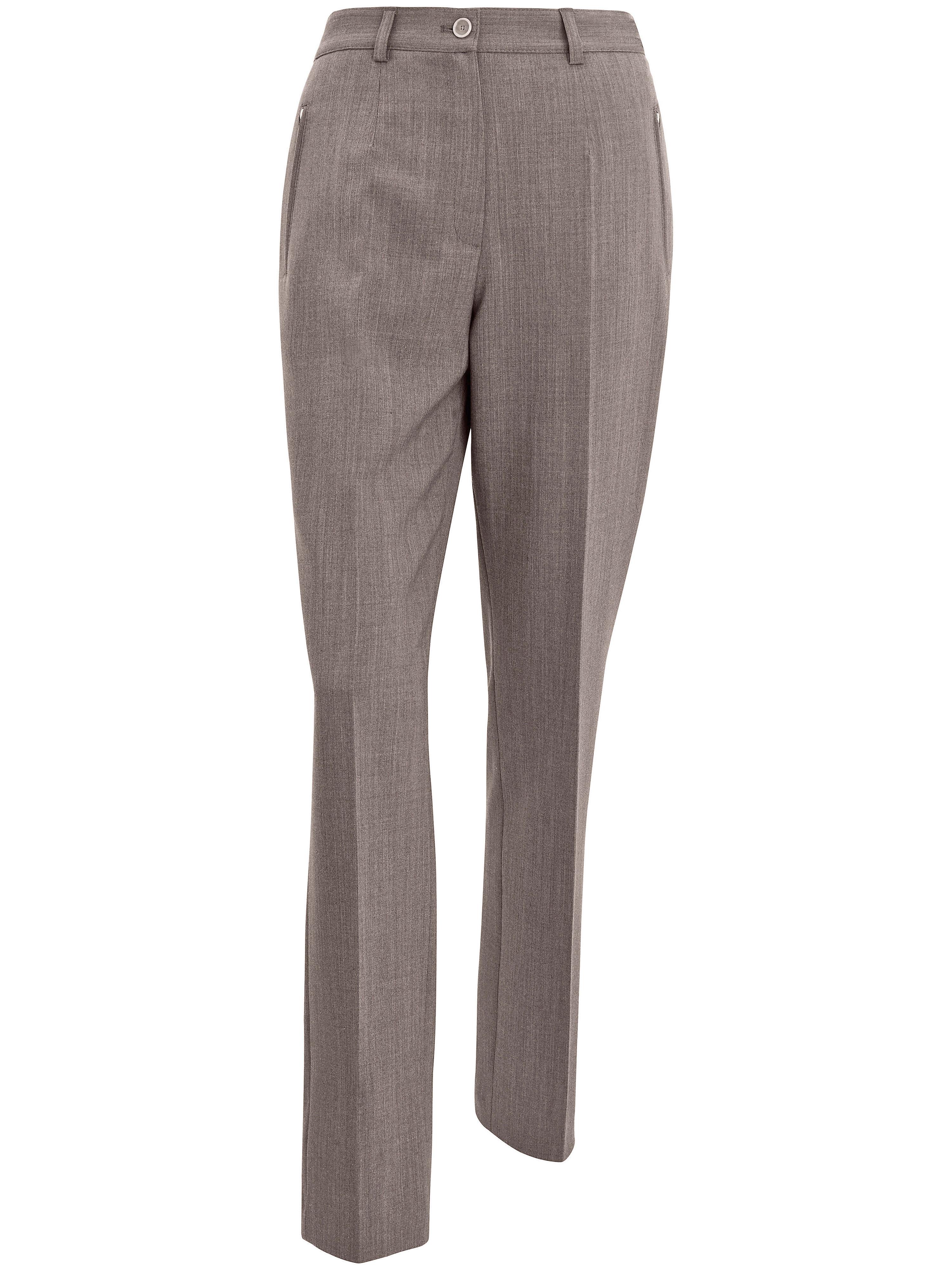 Le pantalon voyage RAMONA Pro Form Slim  Raphaela by Brax beige taille 24