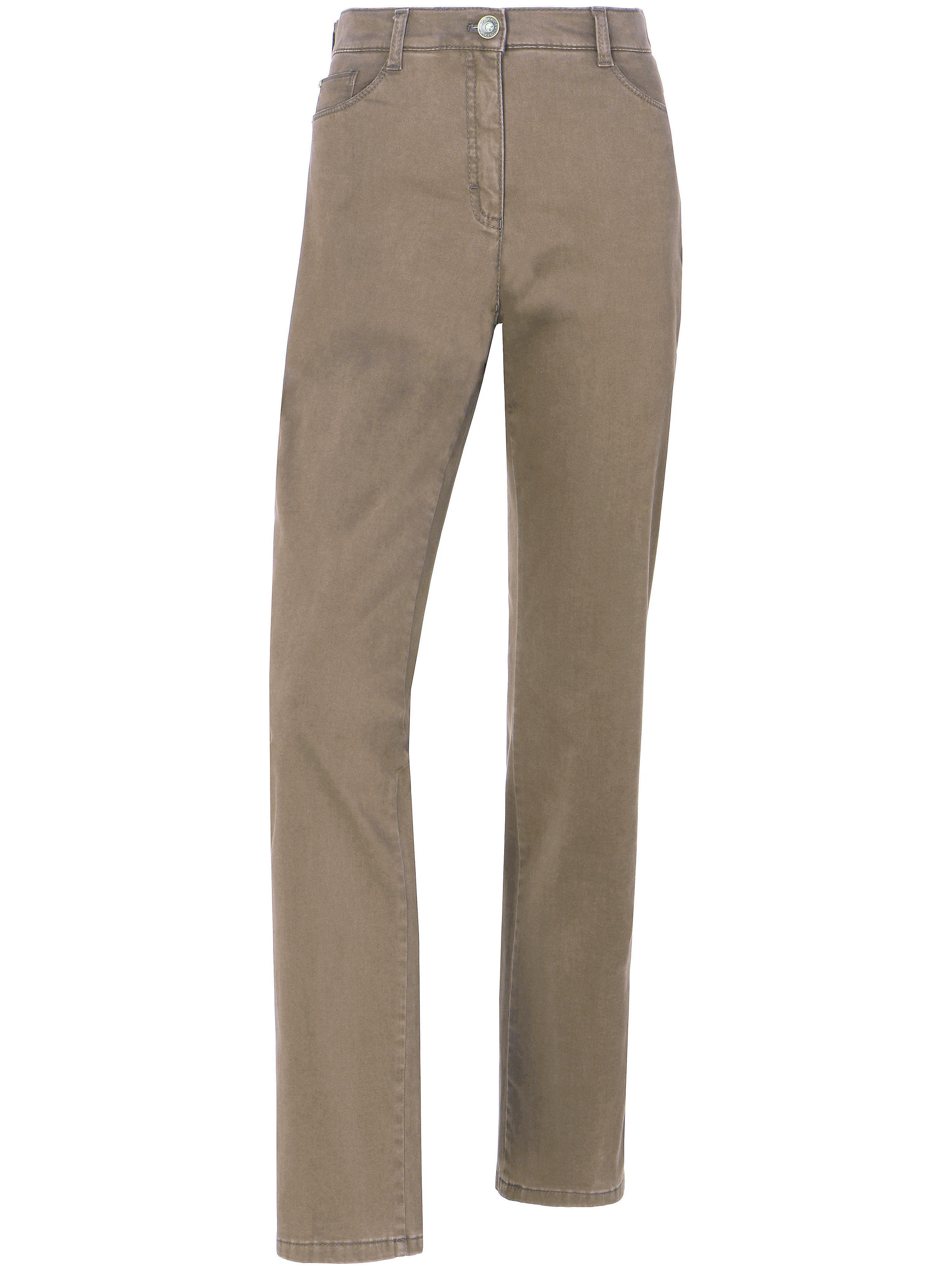 Image of   'Slim fit'-jeans - Model MARY GLAMOUR Fra Brax Feel Good beige