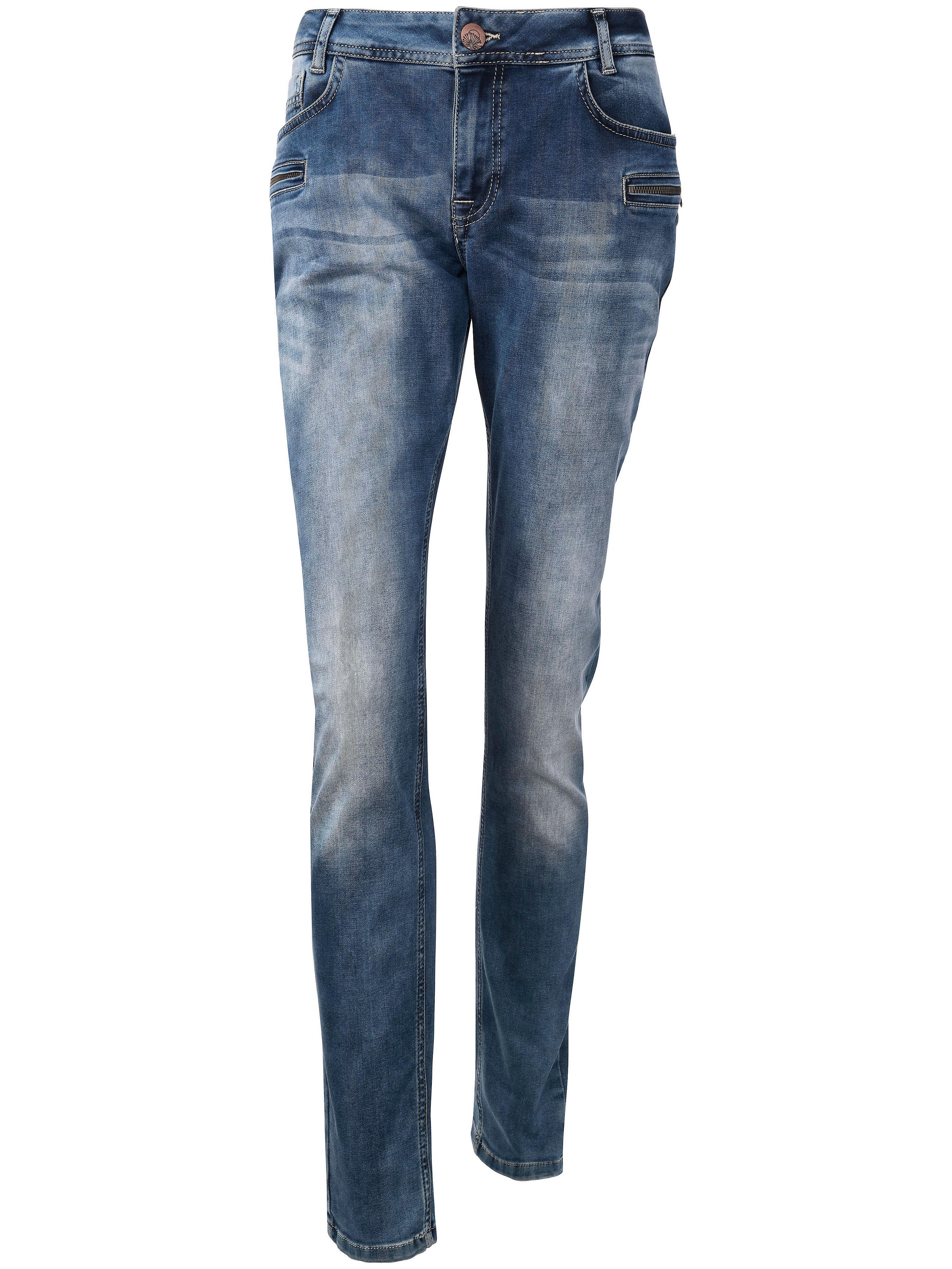 'Sanna ex slim' jeans Van zizzi blauw