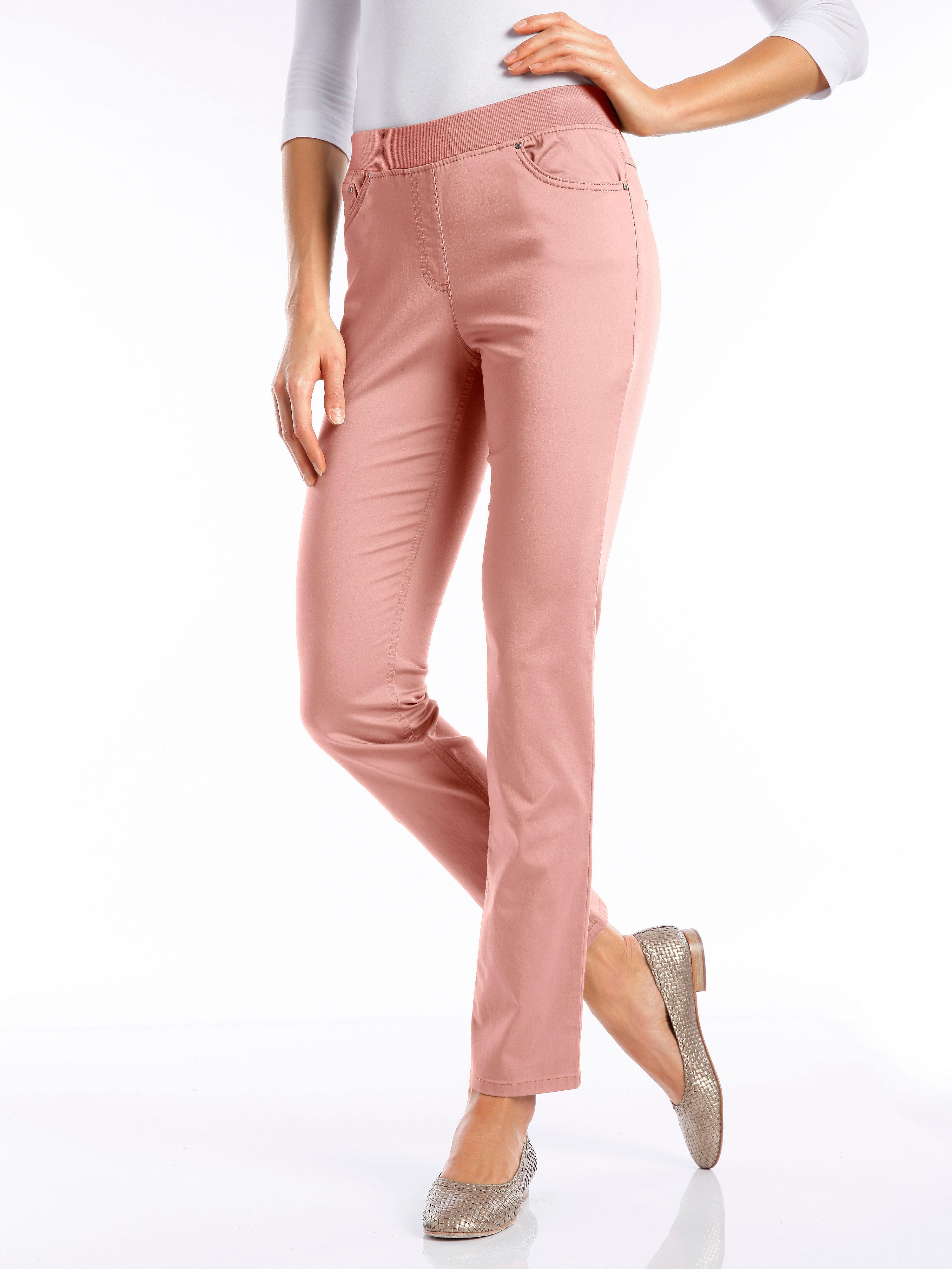 Le pantalon Comfort Plus, modèle CARINA Raphaela by Brax rose taille 50